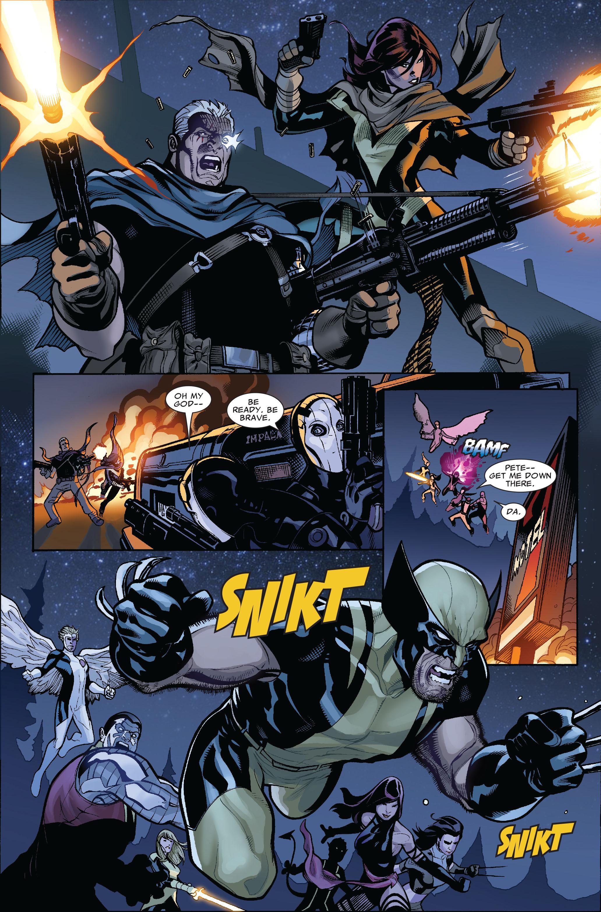 Read online Uncanny X-Men (1963) comic -  Issue #523 - 22