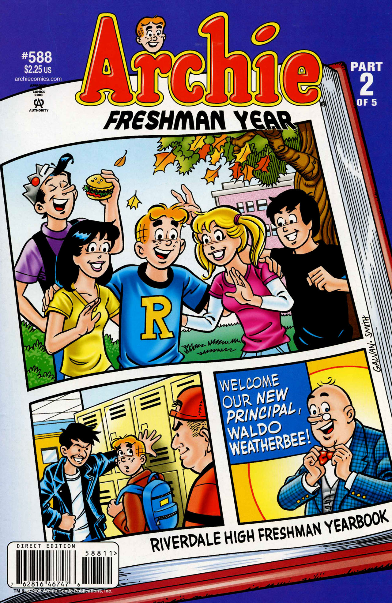 Read online Archie (1960) comic -  Issue #588 - 1