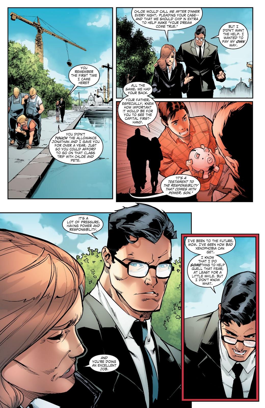 Read online Smallville Season 11 [II] comic -  Issue # TPB 5 - 128