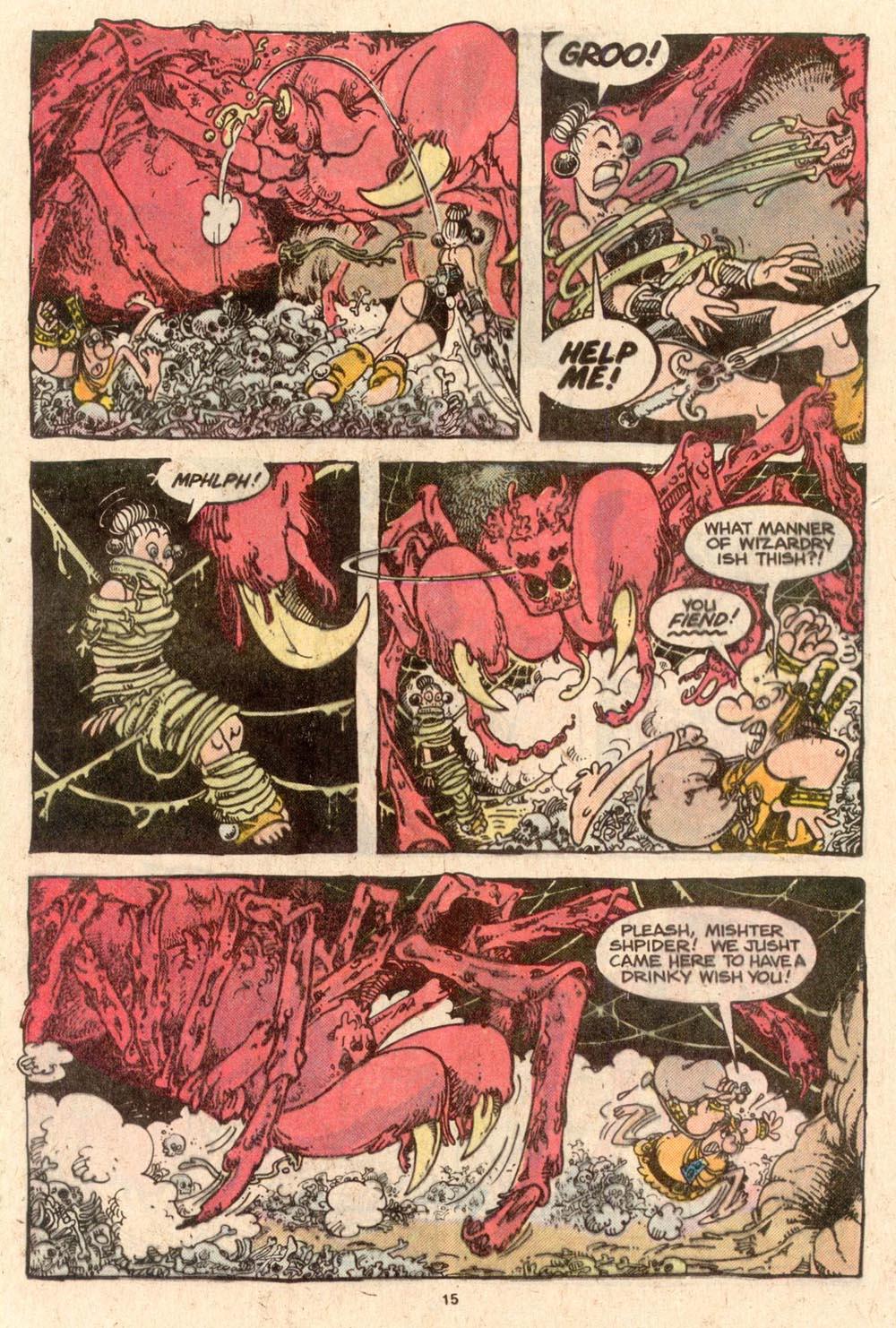 Read online Sergio Aragonés Groo the Wanderer comic -  Issue #52 - 15