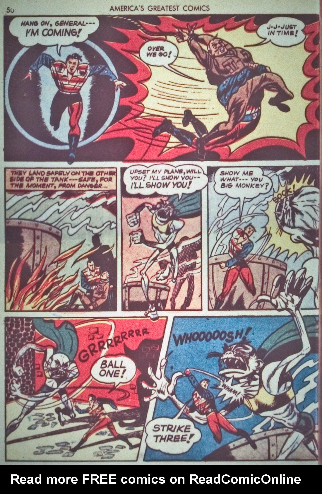 Read online America's Greatest Comics comic -  Issue #1 - 53