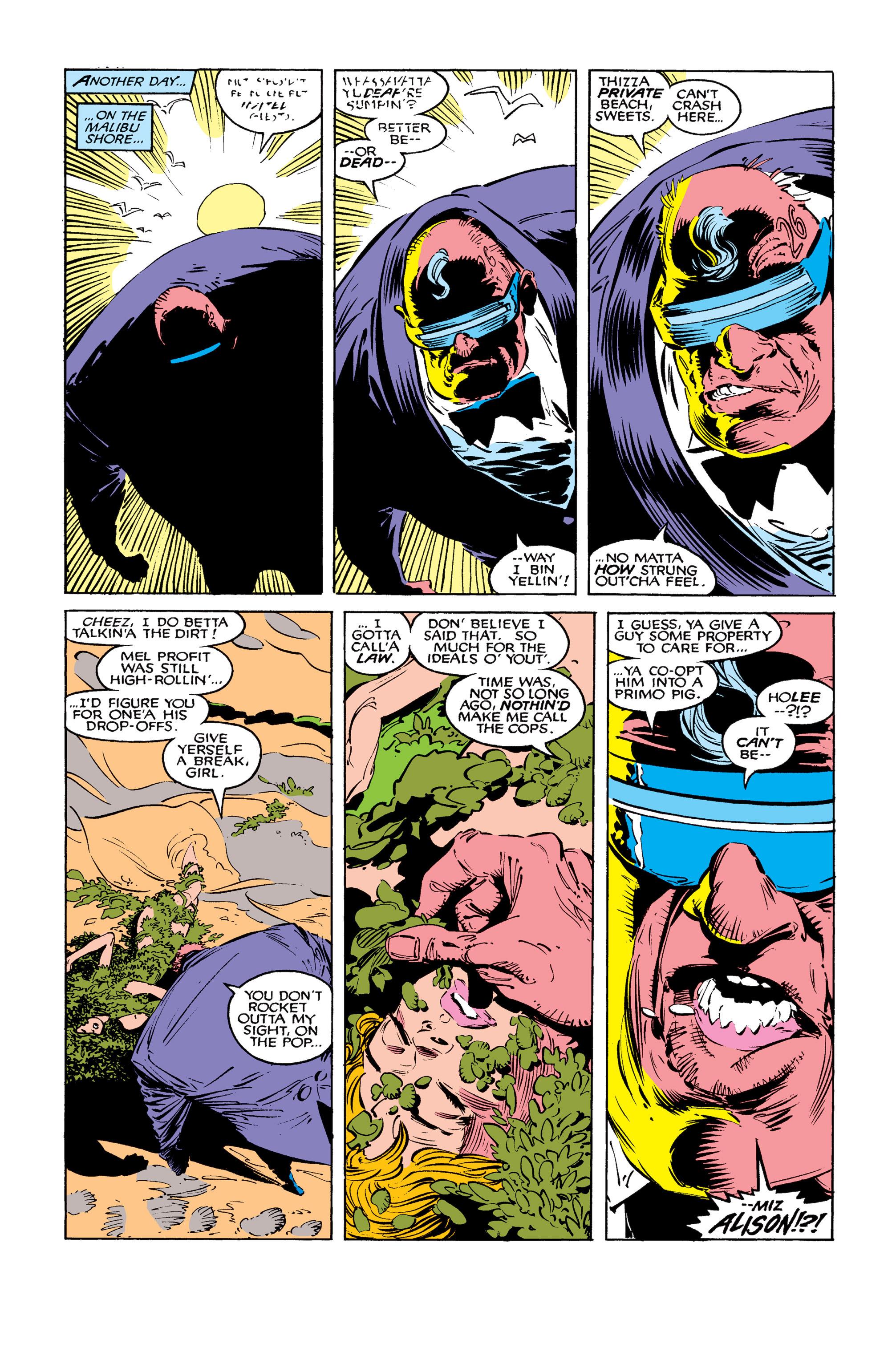 Read online Uncanny X-Men (1963) comic -  Issue #259 - 8