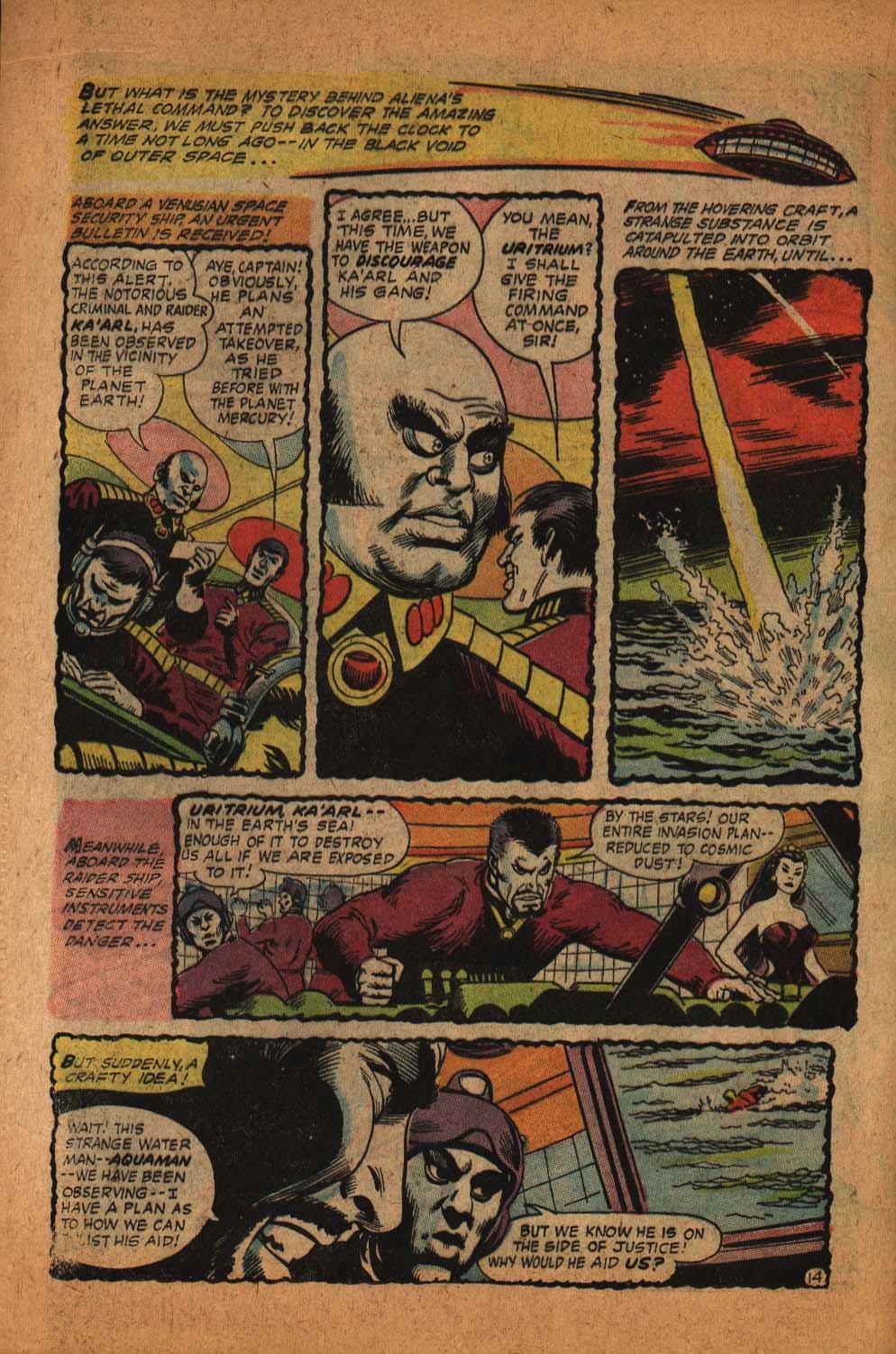 Read online Aquaman (1962) comic -  Issue #39 - 21