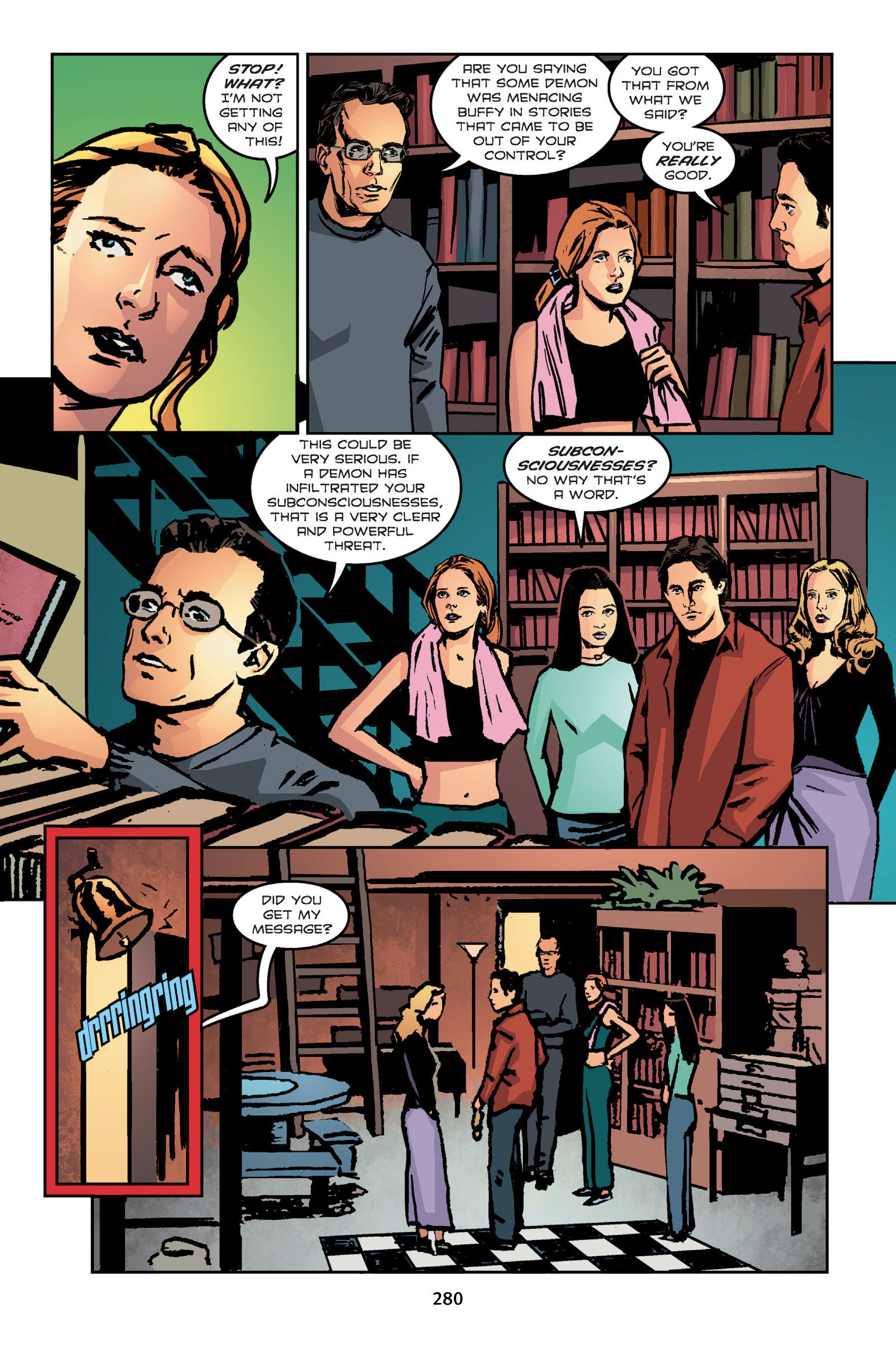 Read online Buffy the Vampire Slayer: Omnibus comic -  Issue # TPB 7 - 279