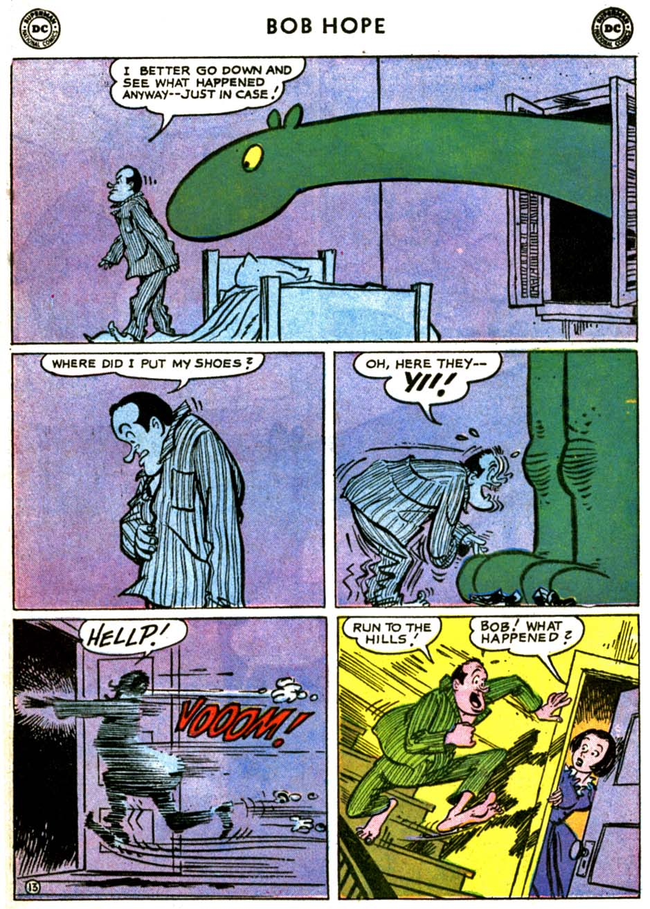 The Adventures of Bob Hope issue 69 - Page 17