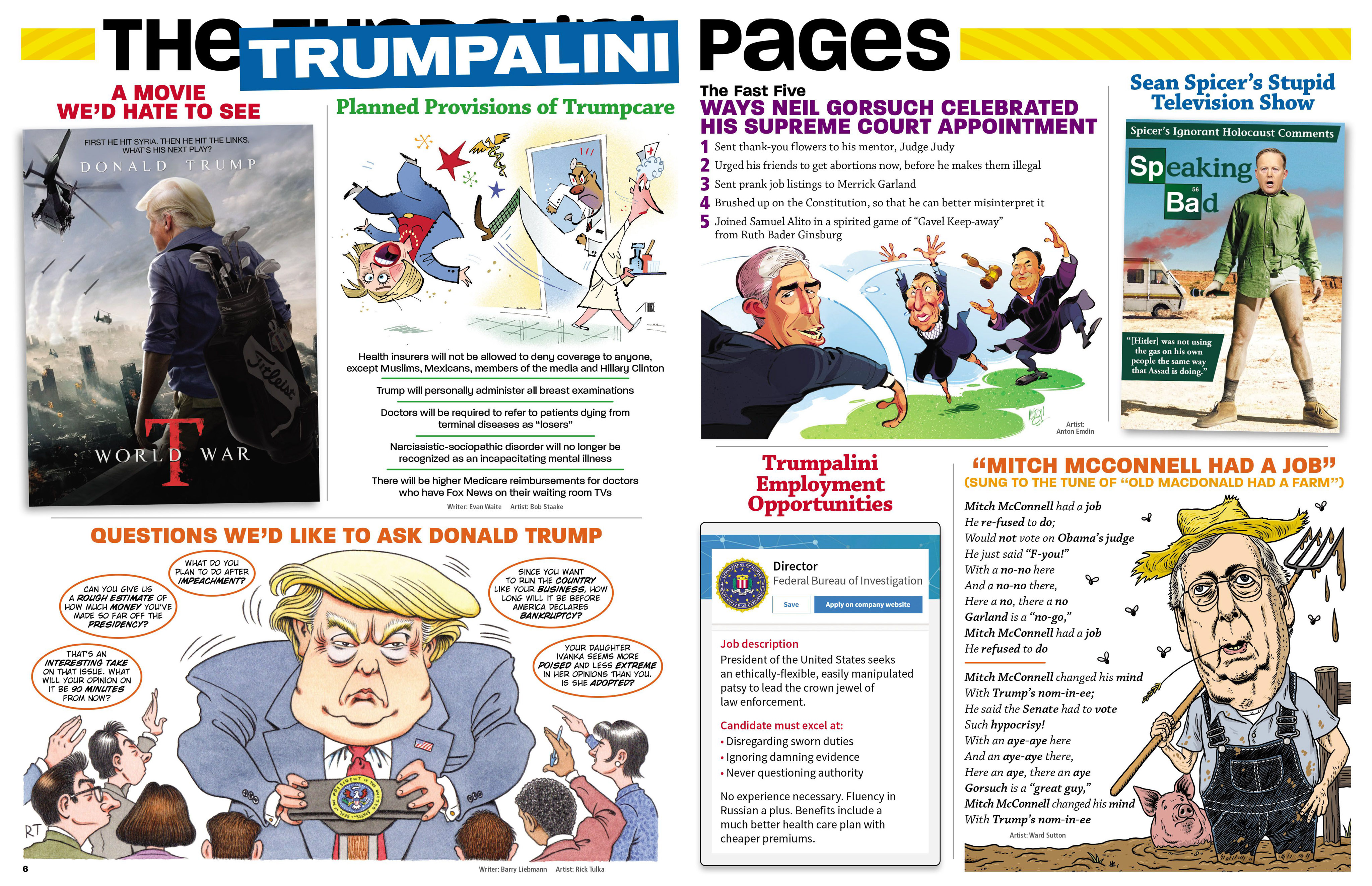 Read online MAD comic -  Issue #546 - 8