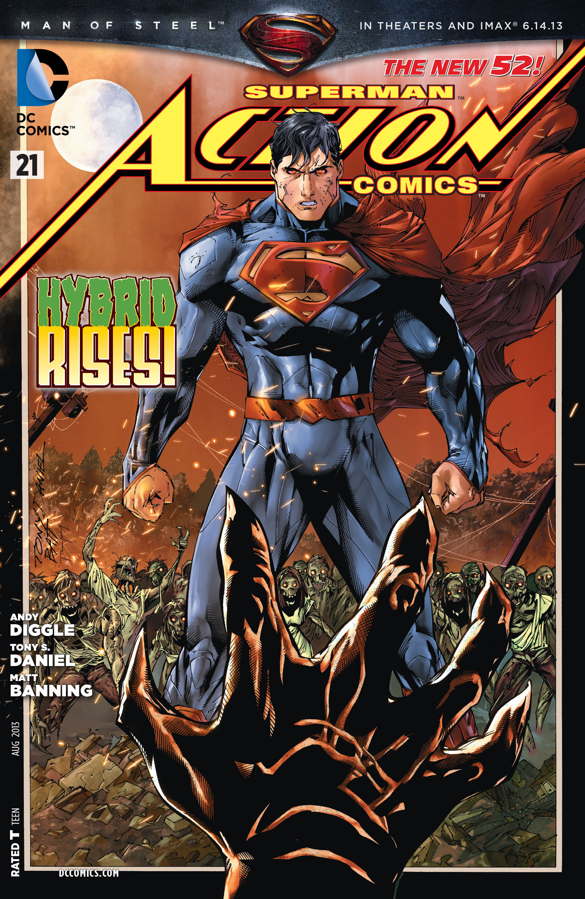 Read online Action Comics (2011) comic -  Issue #21 - 3