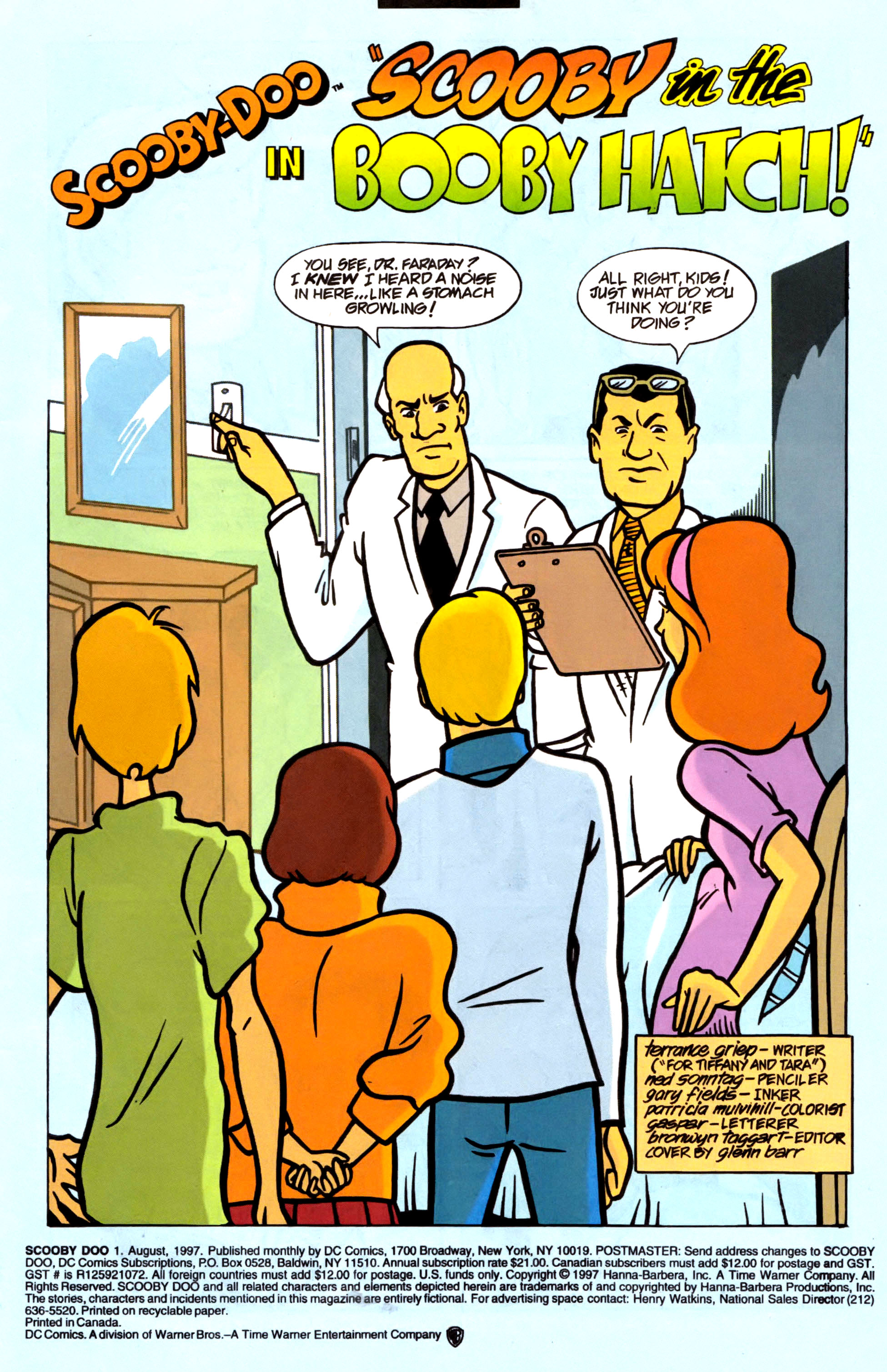 Read online Scooby-Doo (1997) comic -  Issue #1 - 4