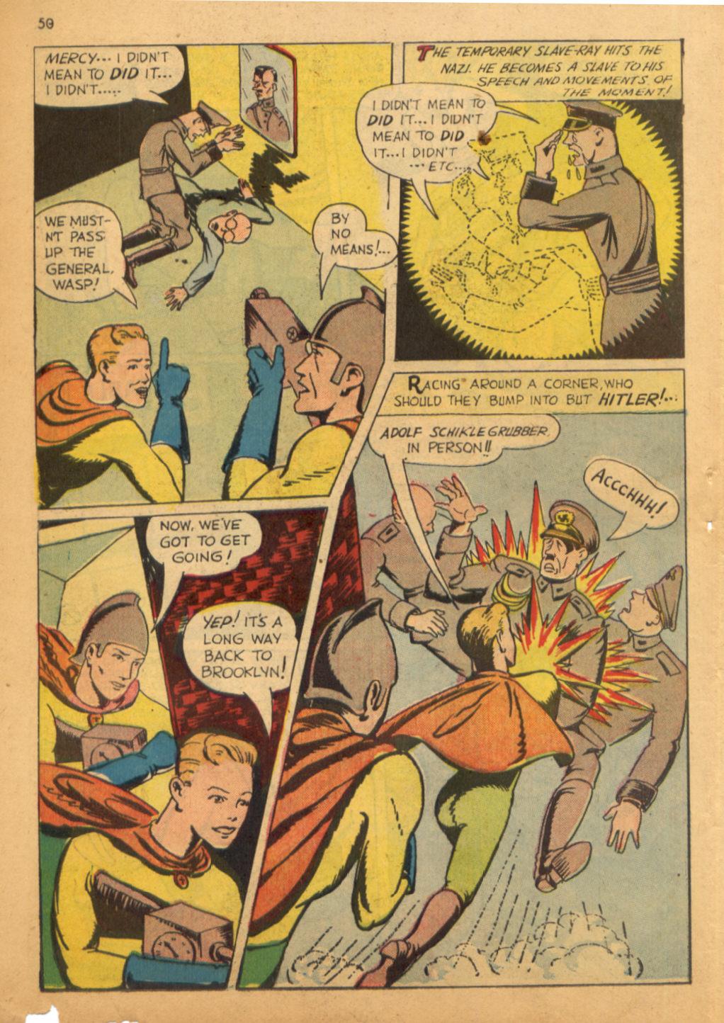 Read online Shadow Comics comic -  Issue #32 - 51