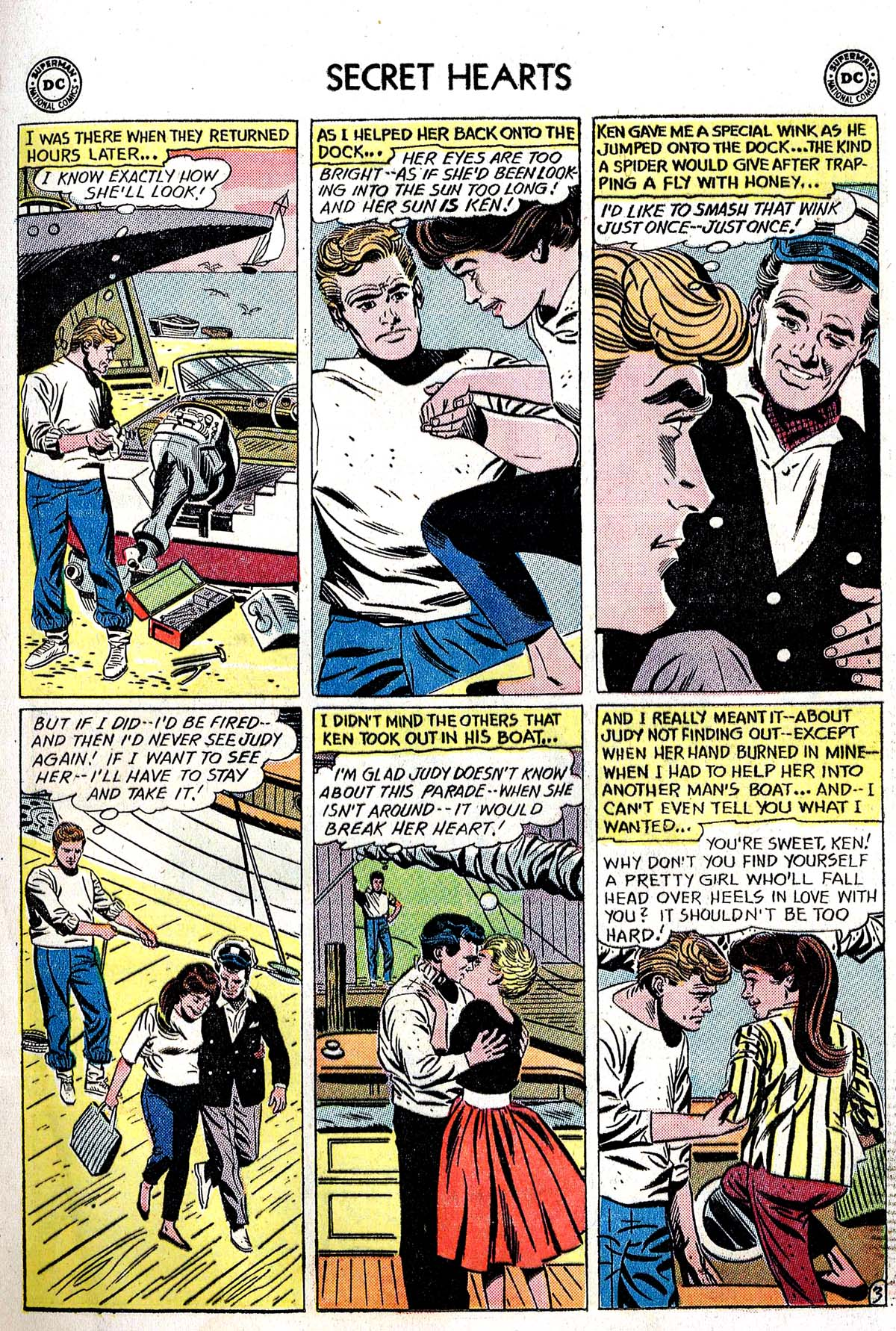 Read online Secret Hearts comic -  Issue #82 - 5