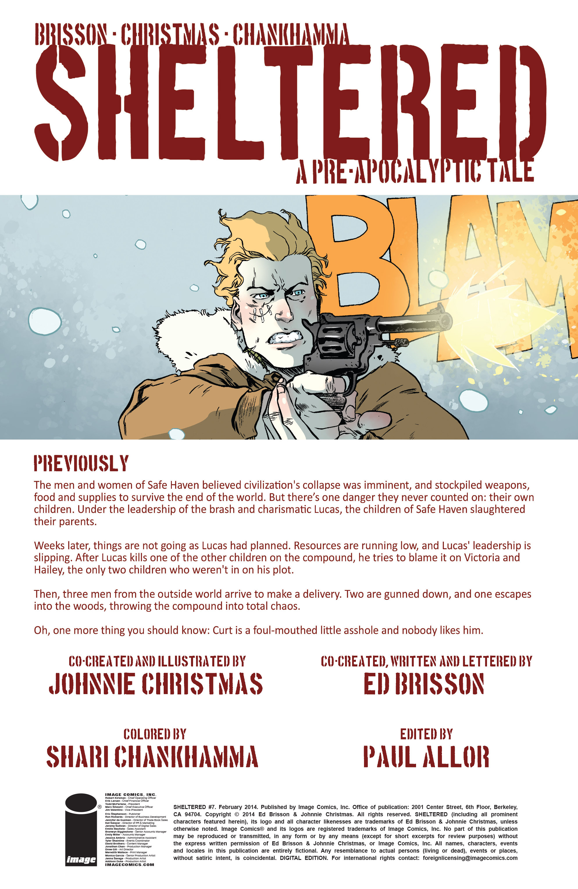 Read online Sheltered comic -  Issue #7 - 2