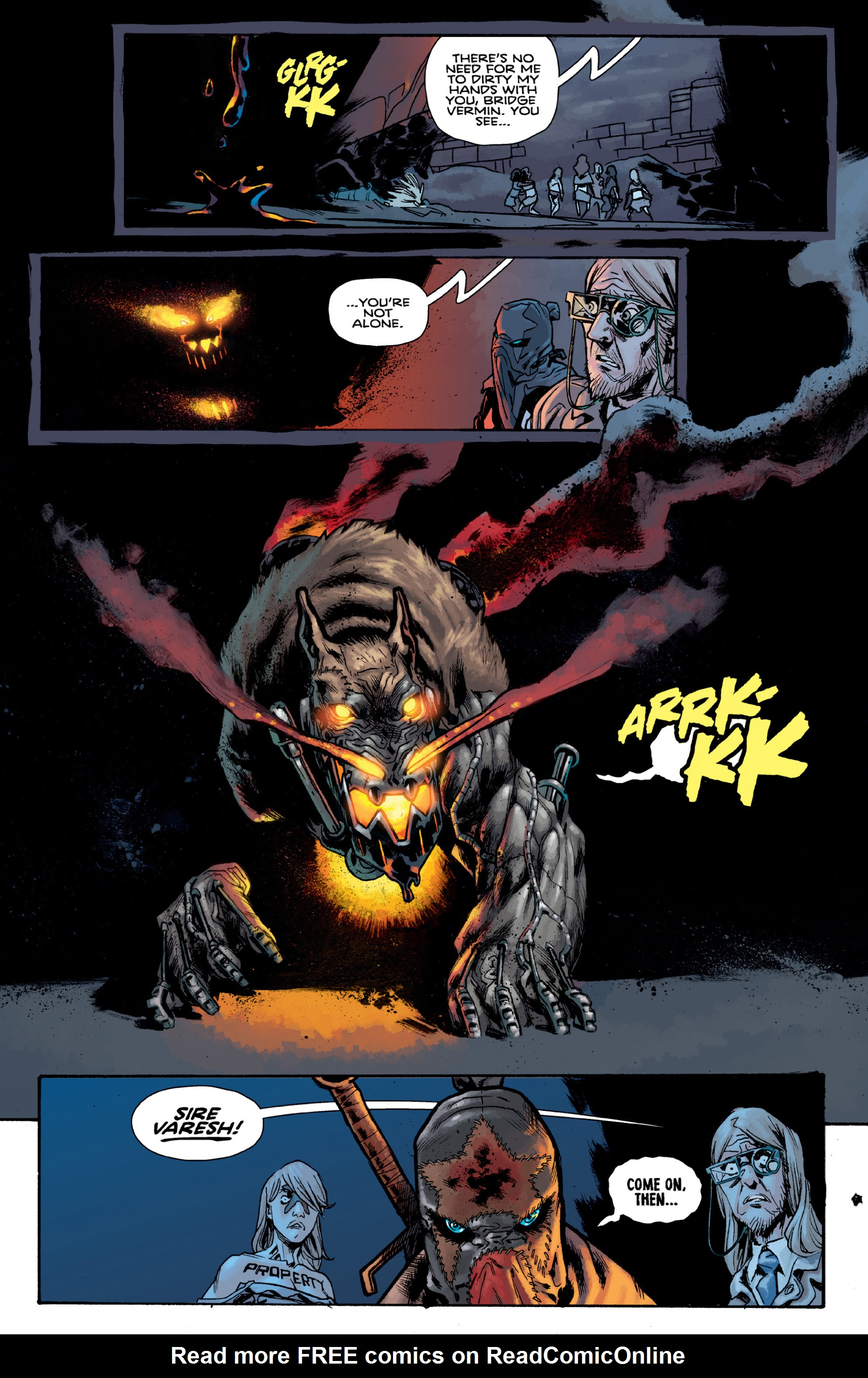 Read online Orchid comic -  Issue # TPB 3 - 43