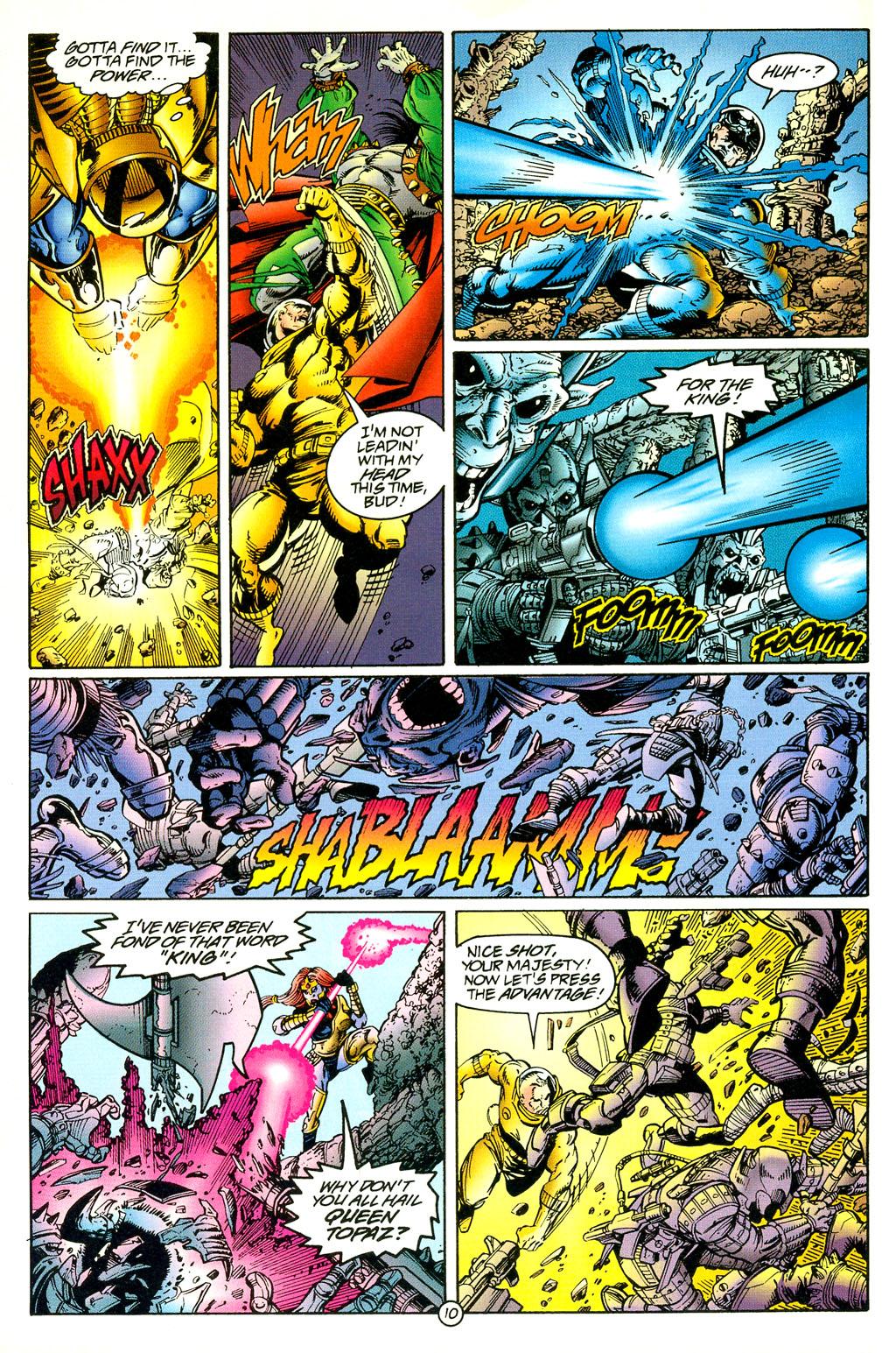 Read online UltraForce (1994) comic -  Issue #5 - 11