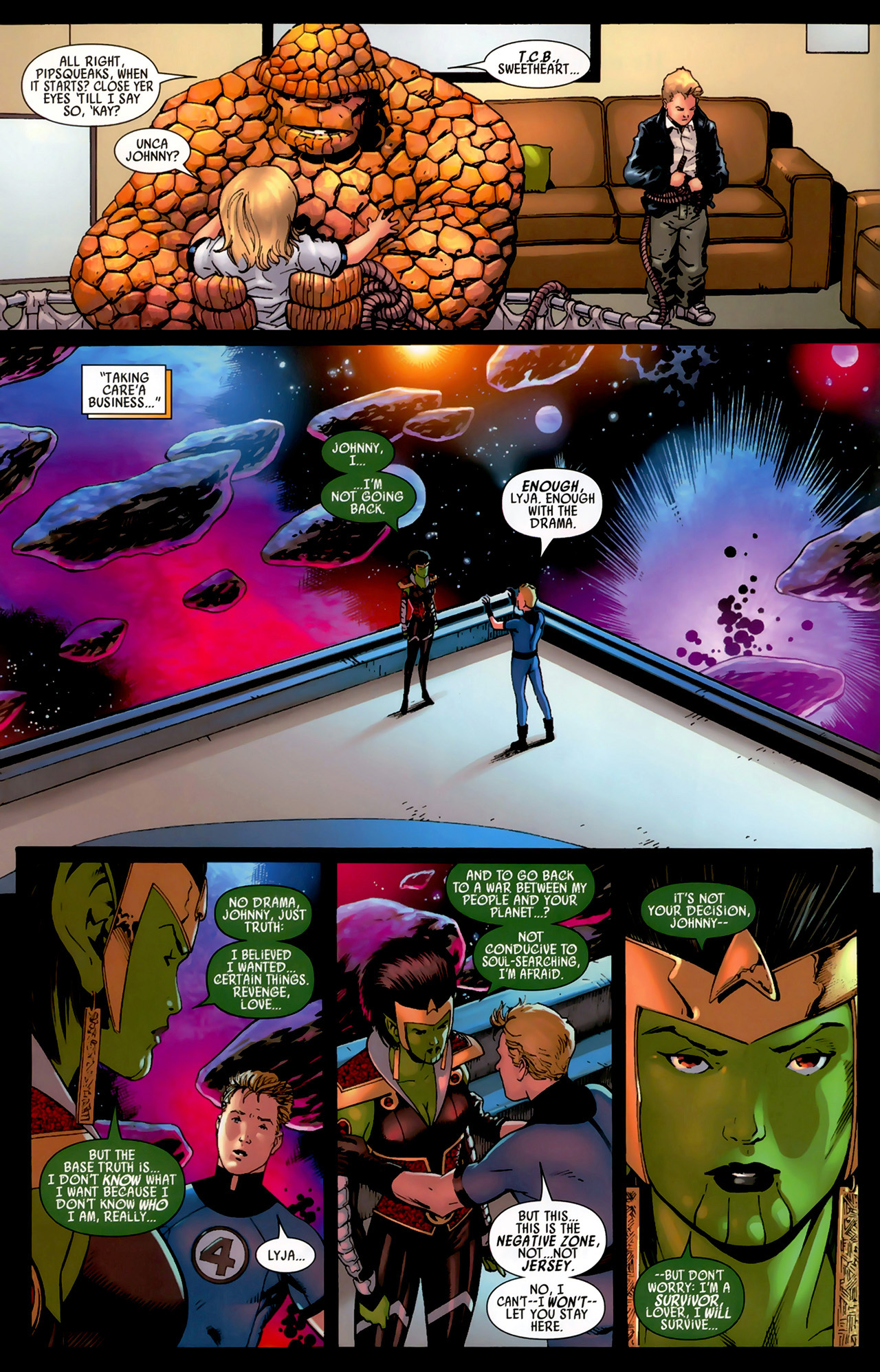 Read online Secret Invasion: Fantastic Four comic -  Issue #3 - 21