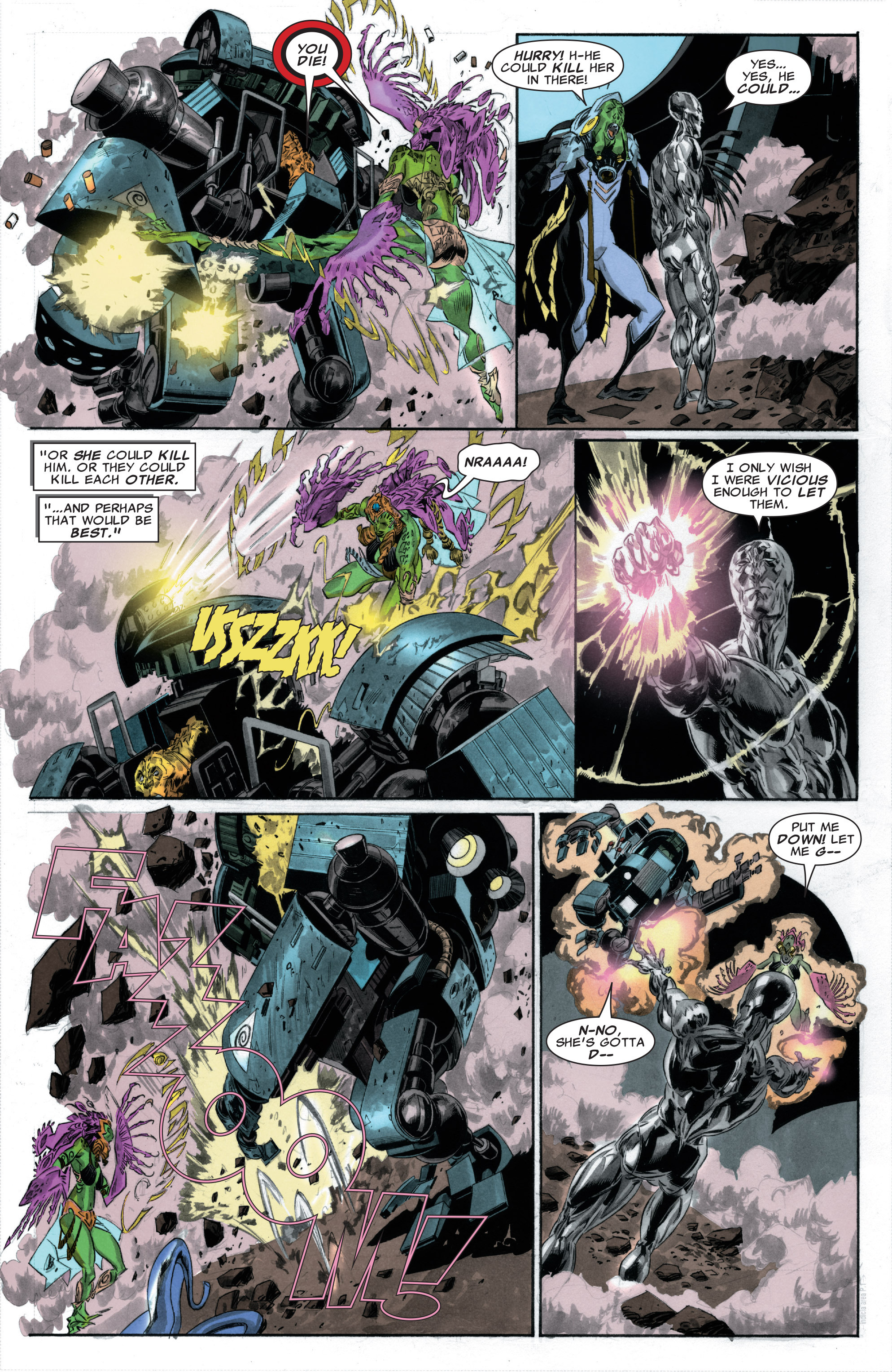 Read online Silver Surfer: In Thy Name comic -  Issue #3 - 21