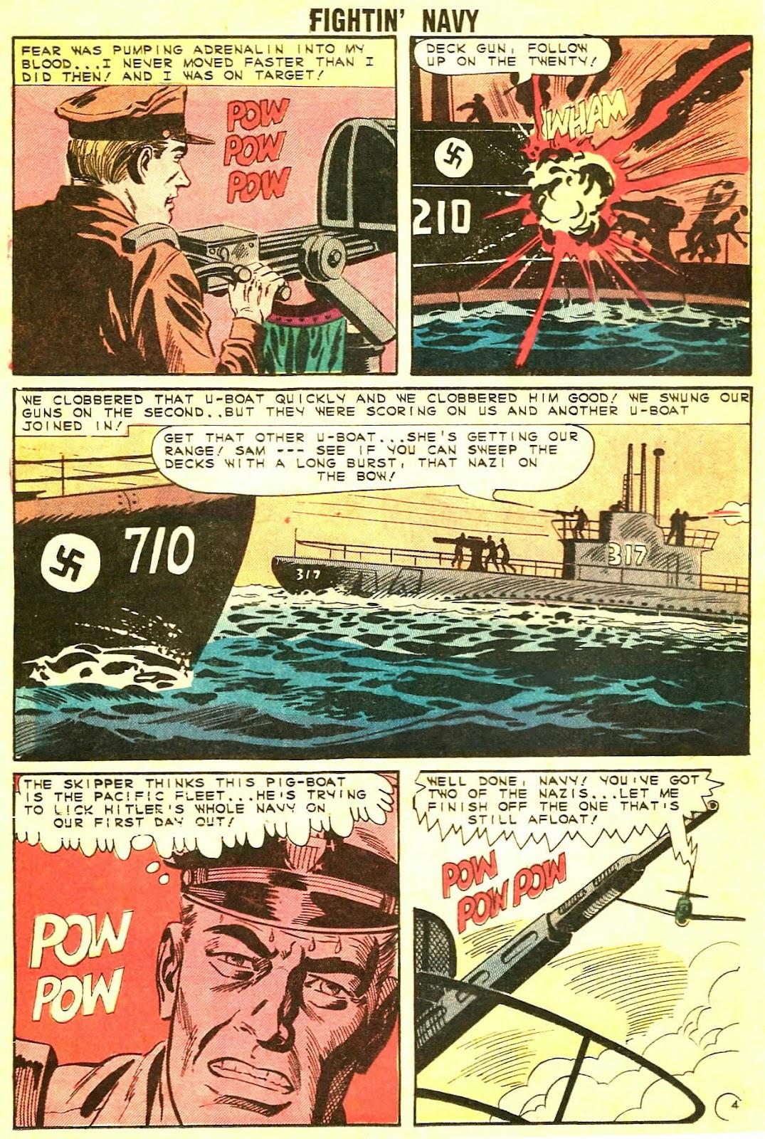 Read online Fightin' Navy comic -  Issue #115 - 12
