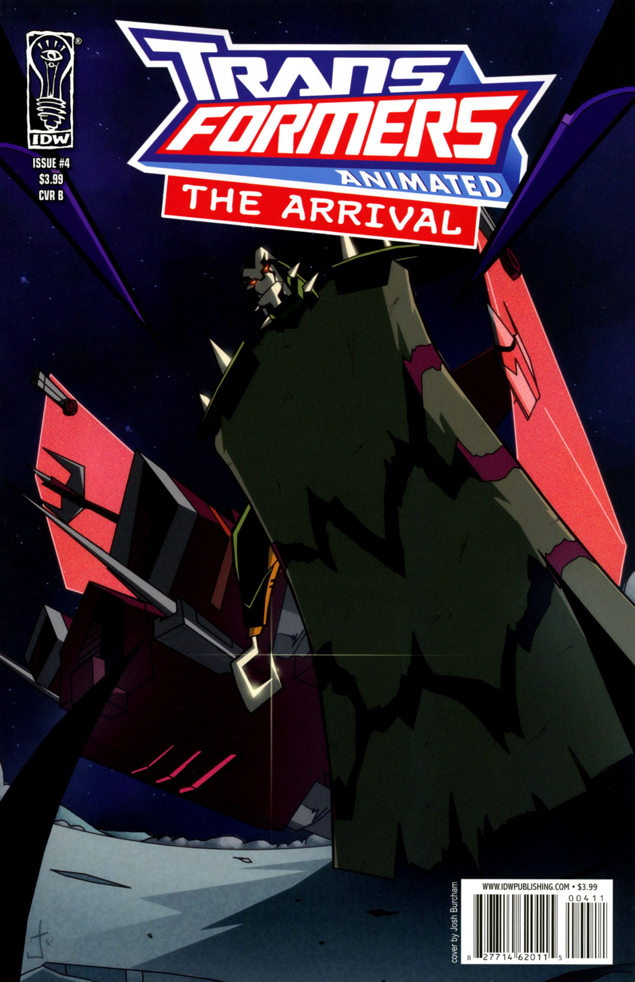 Read online Transformers Animated: The Arrival comic -  Issue #4 - 2