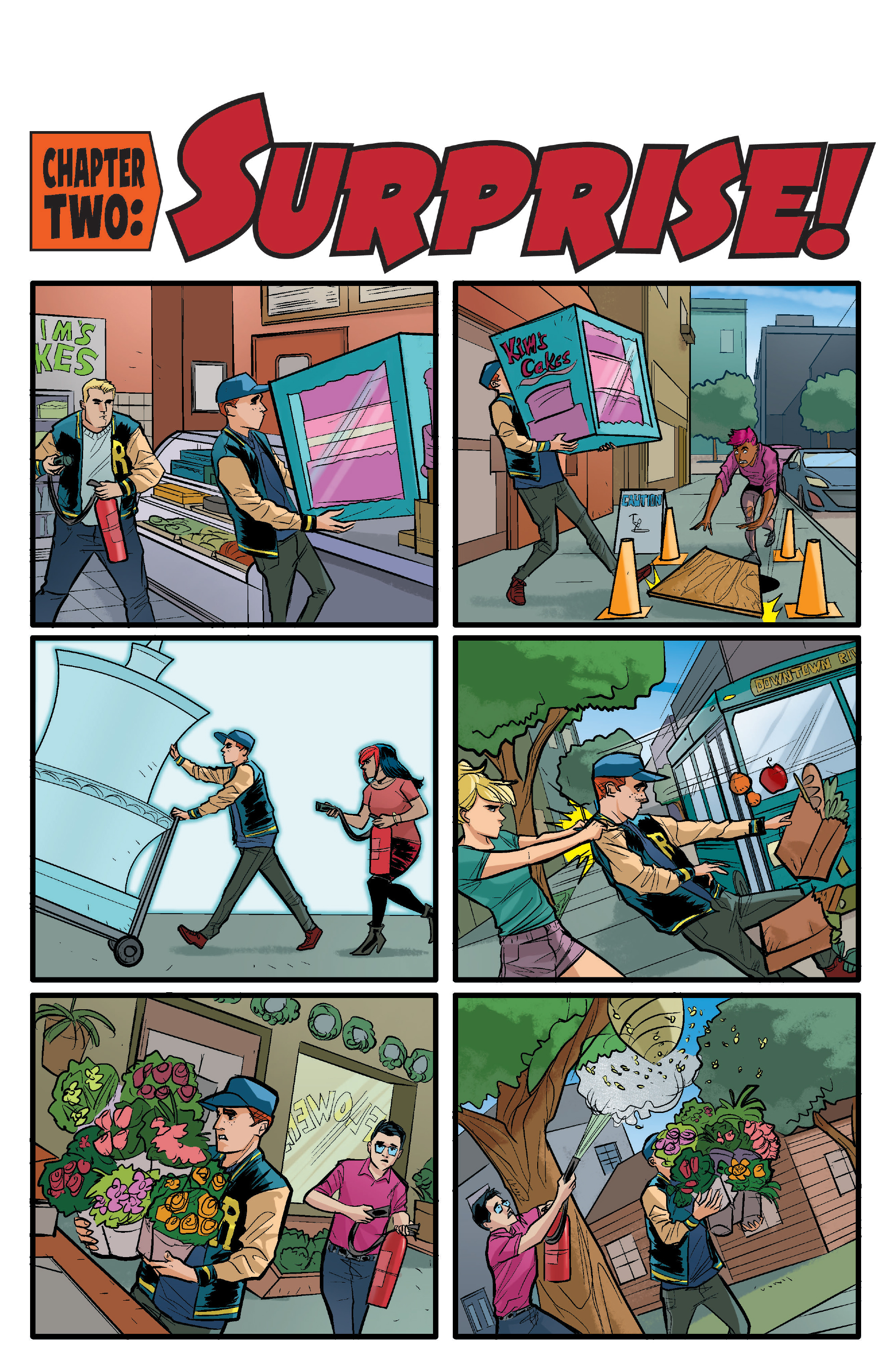Read online Archie (2015) comic -  Issue #15 - 8