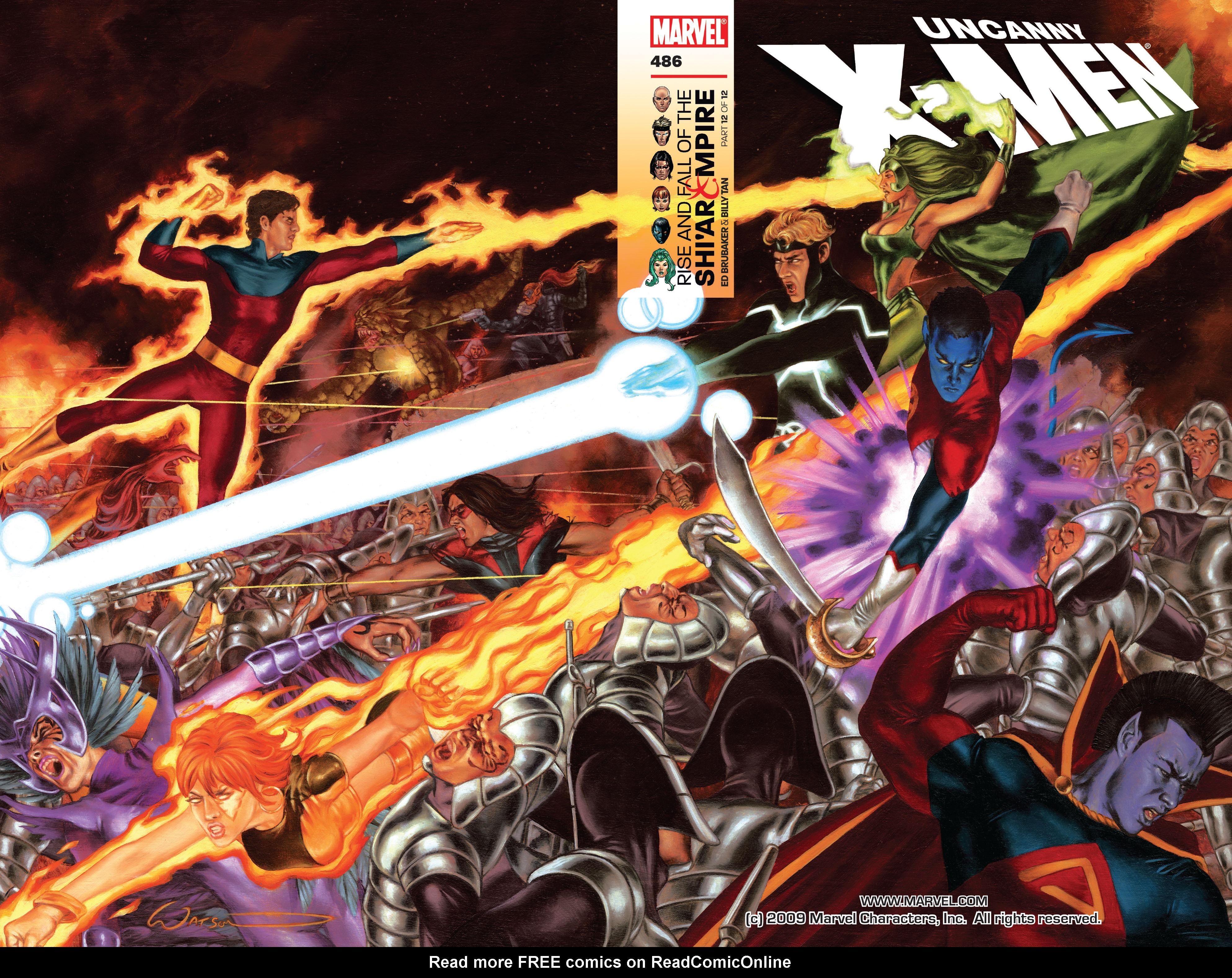 Read online Uncanny X-Men (1963) comic -  Issue #486 - 2