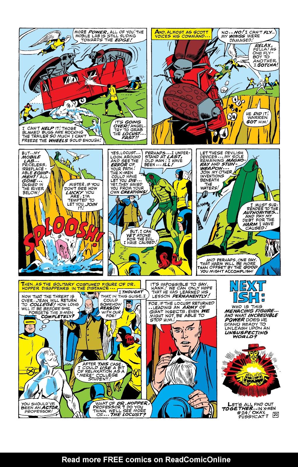 Uncanny X-Men (1963) issue 24 - Page 21