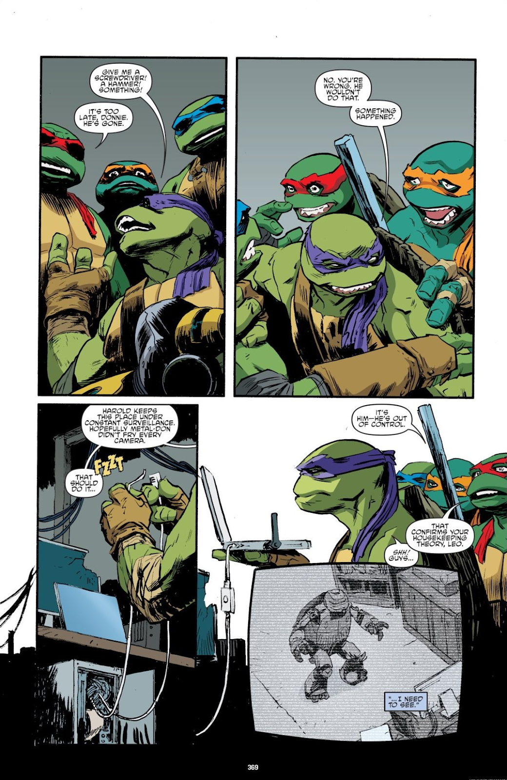 Read online Teenage Mutant Ninja Turtles: The IDW Collection comic -  Issue # TPB 8 (Part 4) - 67
