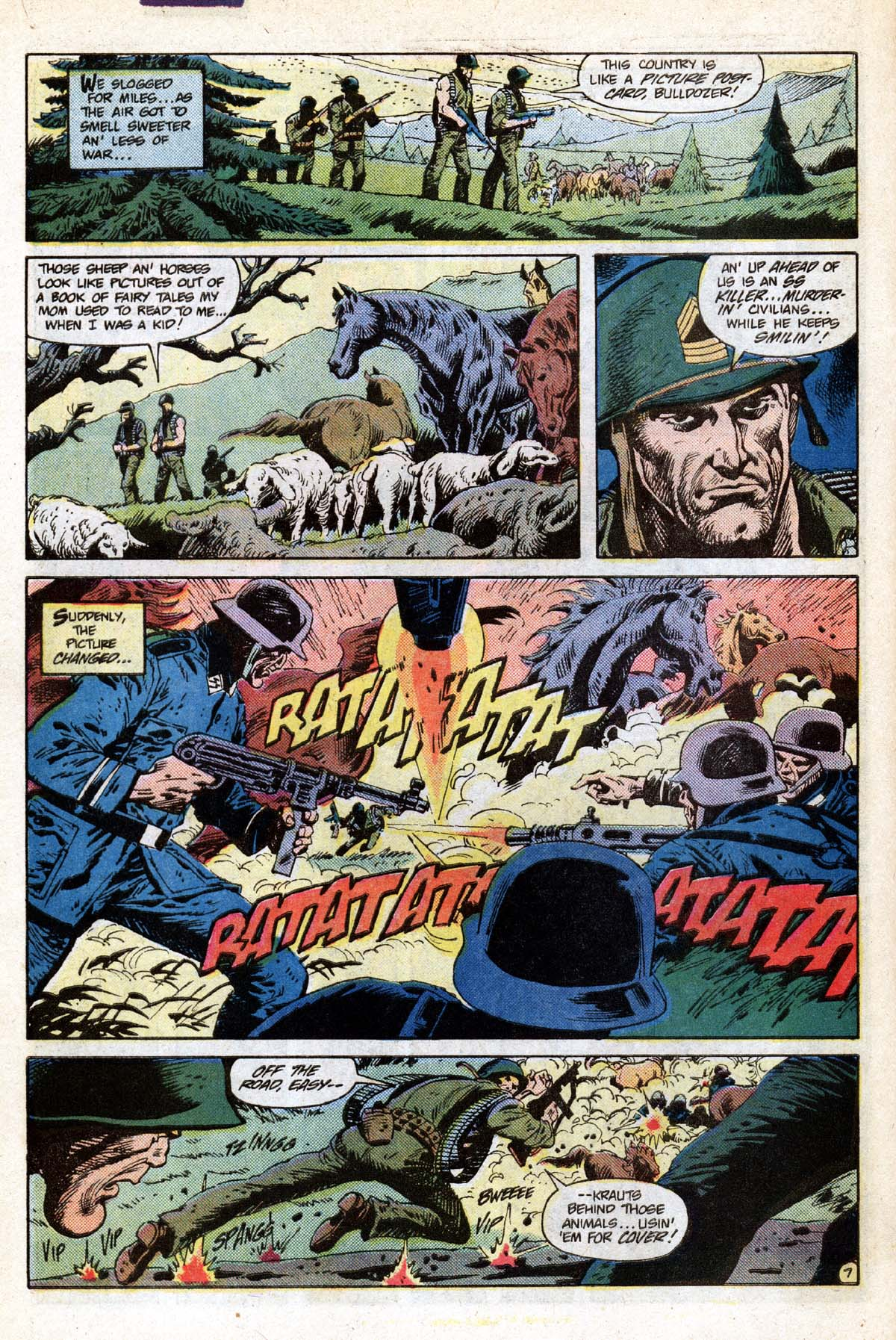 Read online Sgt. Rock comic -  Issue #391 - 8