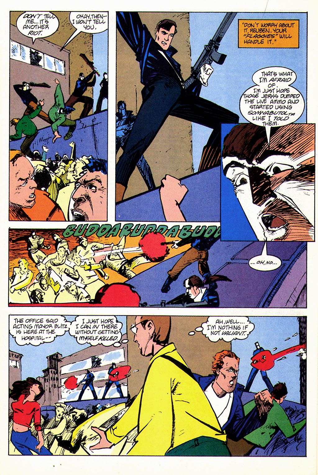Read online American Flagg! comic -  Issue #45 - 13