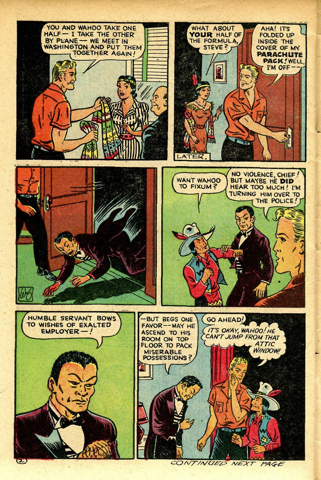 Read online Famous Funnies comic -  Issue #129 - 42