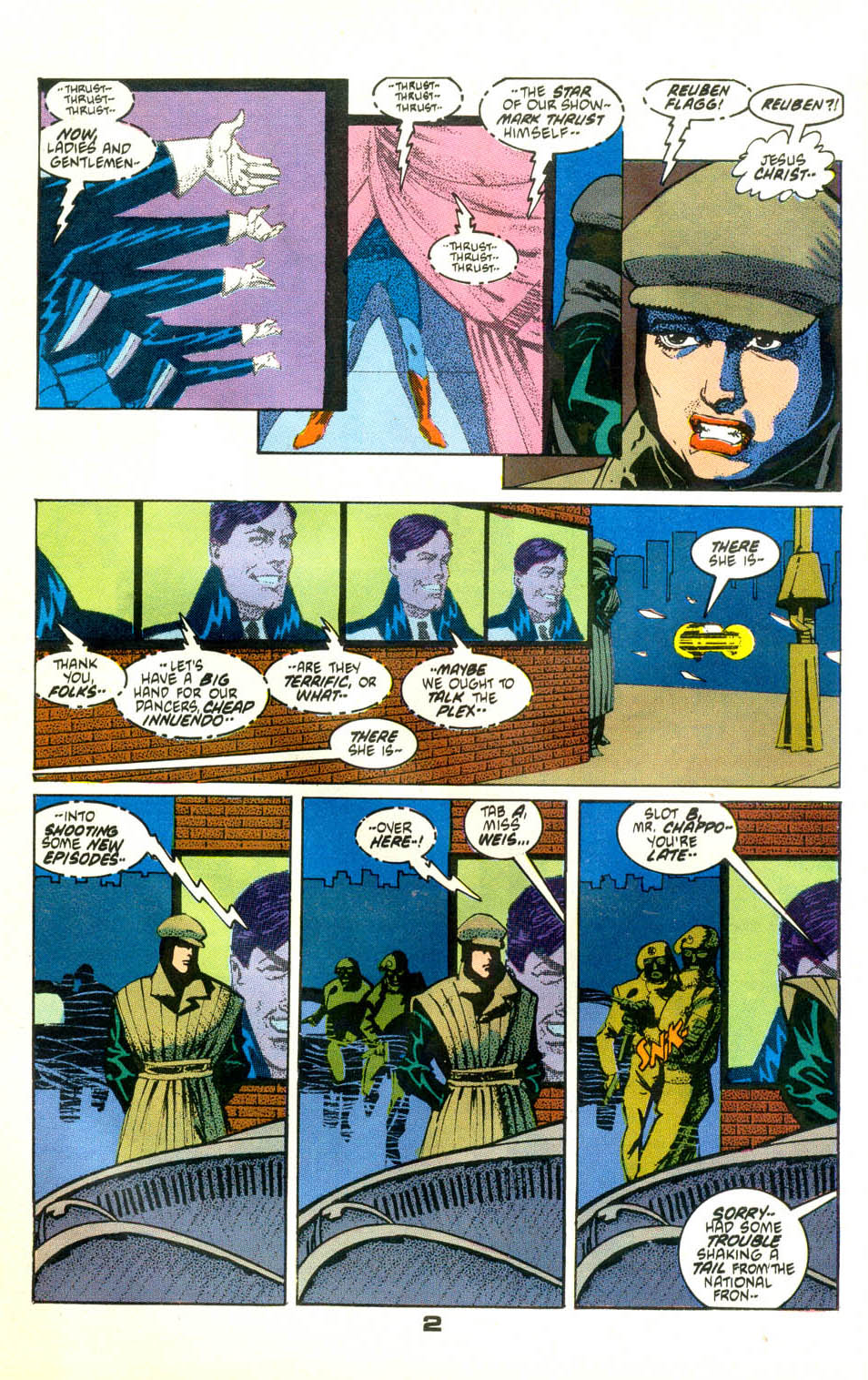 Read online American Flagg! comic -  Issue #24 - 3