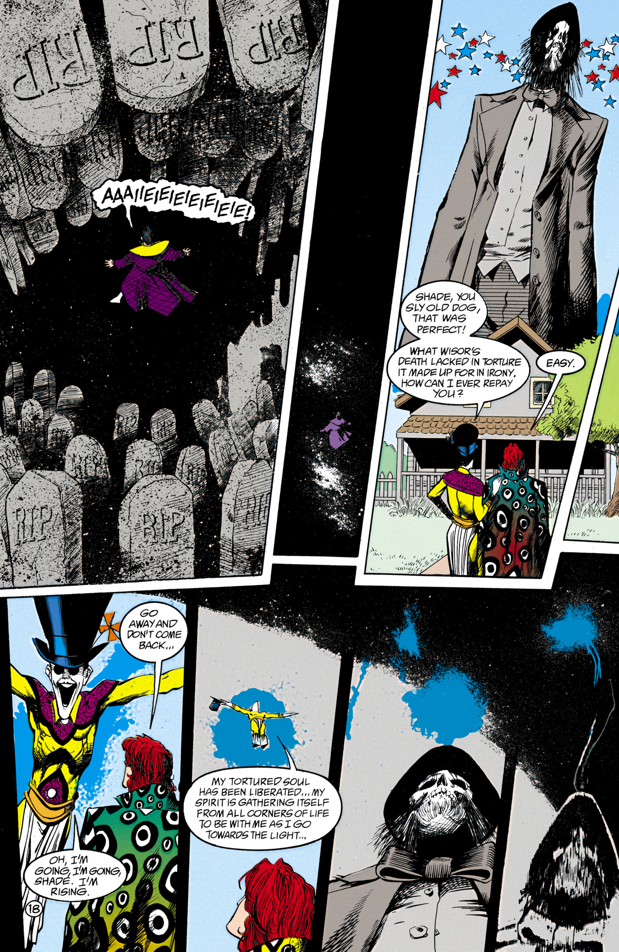 Read online Shade, the Changing Man comic -  Issue #18 - 18