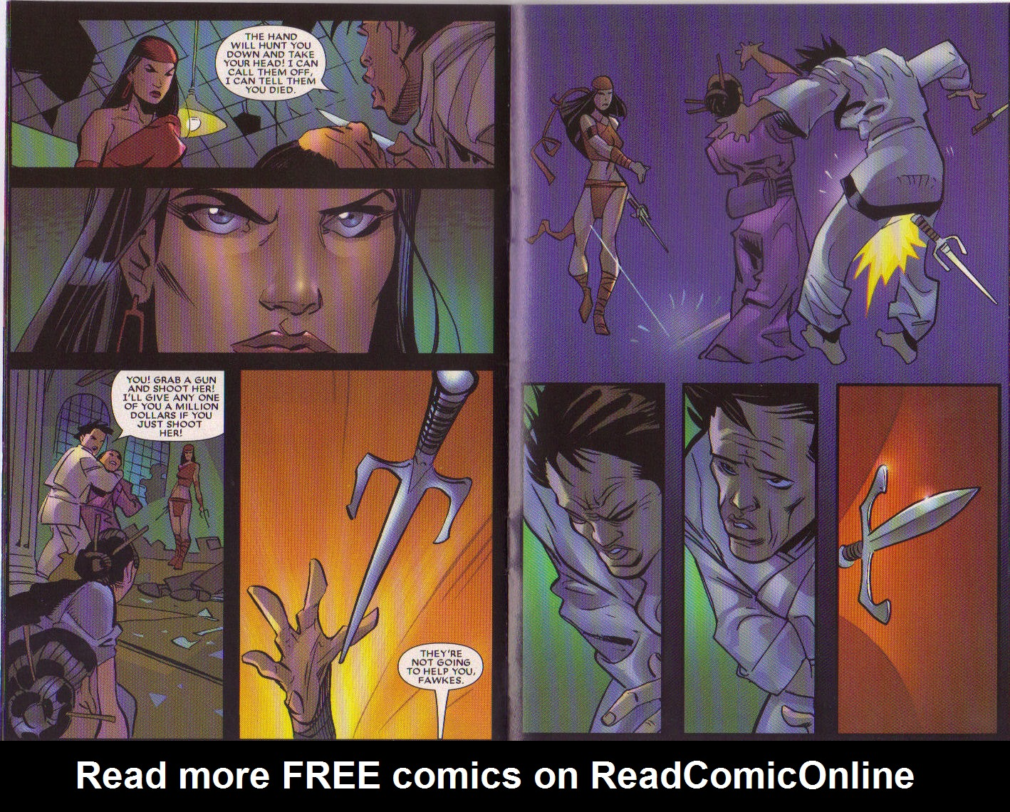 Read online Elektra: On the Rise comic -  Issue # Full - 11