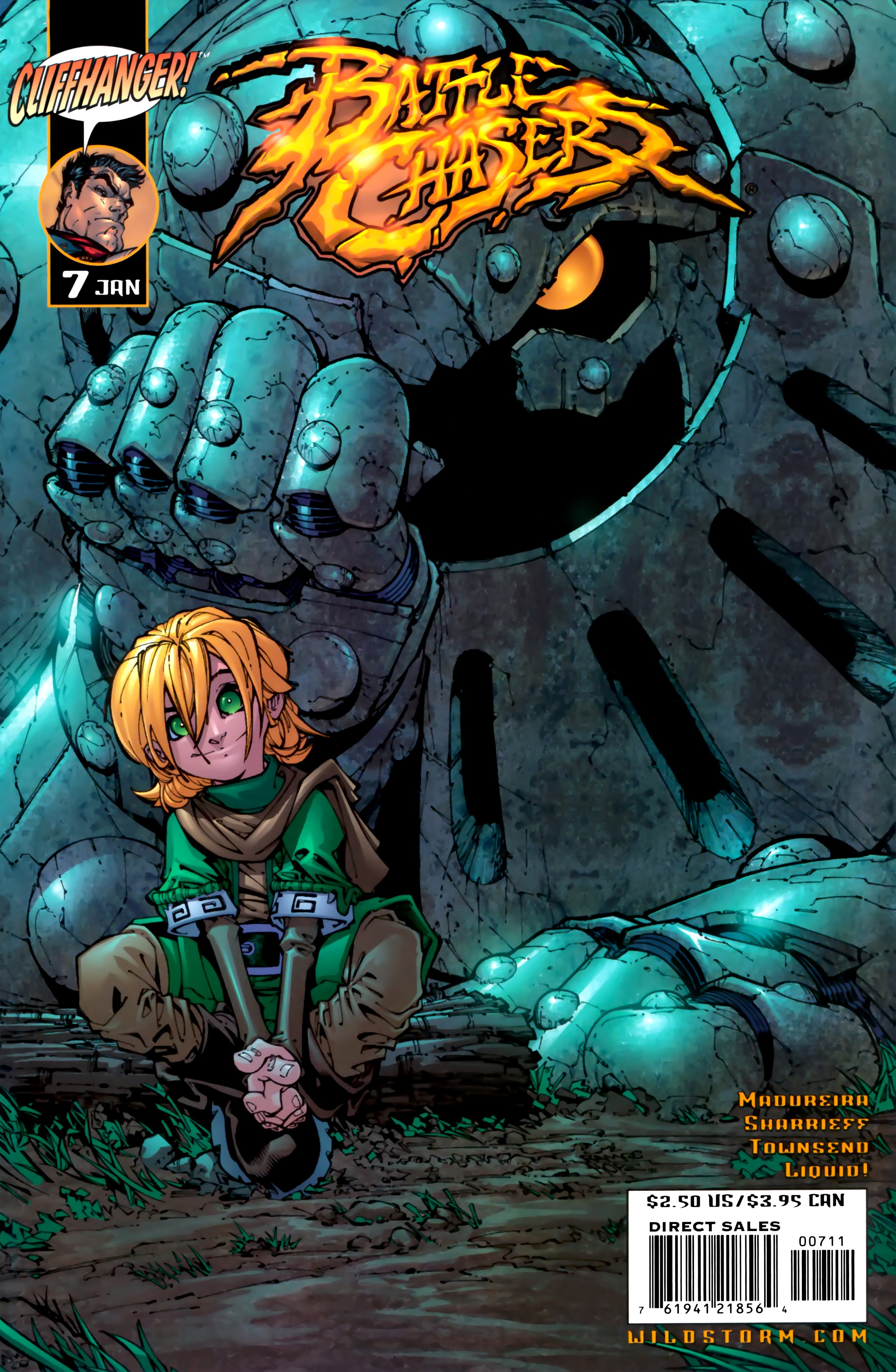 Battle Chasers (1998) 7 Page 1