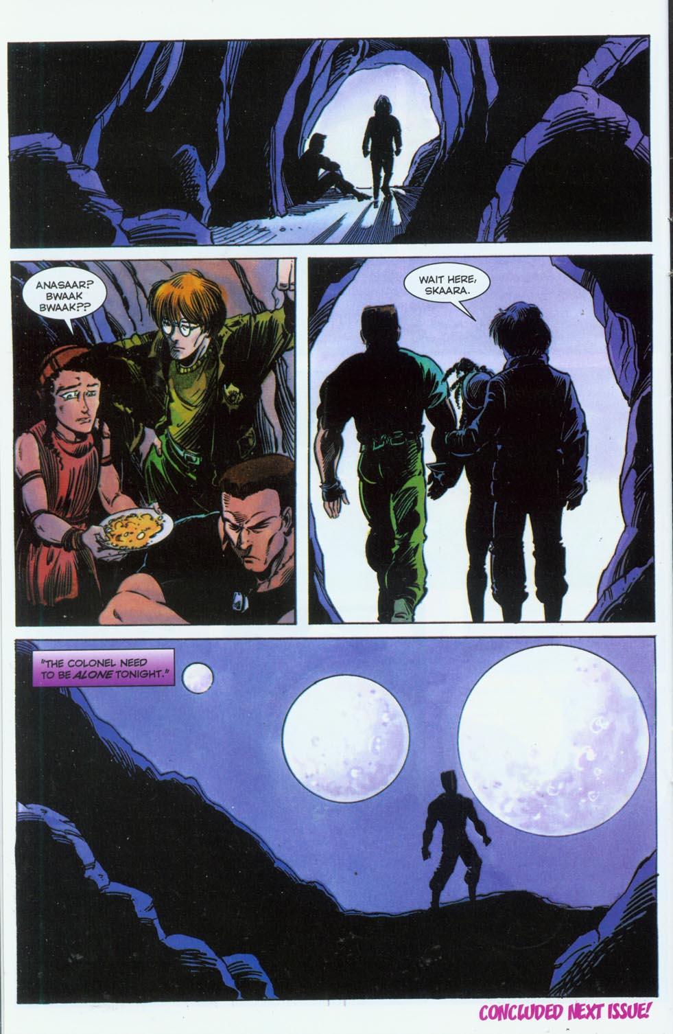 Read online Stargate comic -  Issue #3 - 24