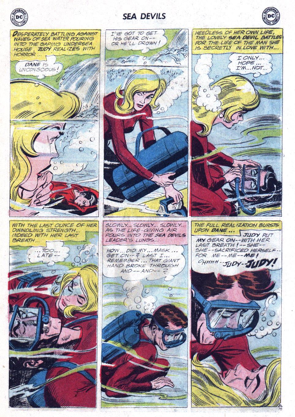 Read online Sea Devils comic -  Issue #11 - 29