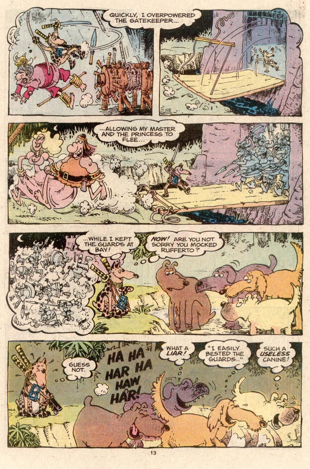 Read online Sergio Aragonés Groo the Wanderer comic -  Issue #43 - 13