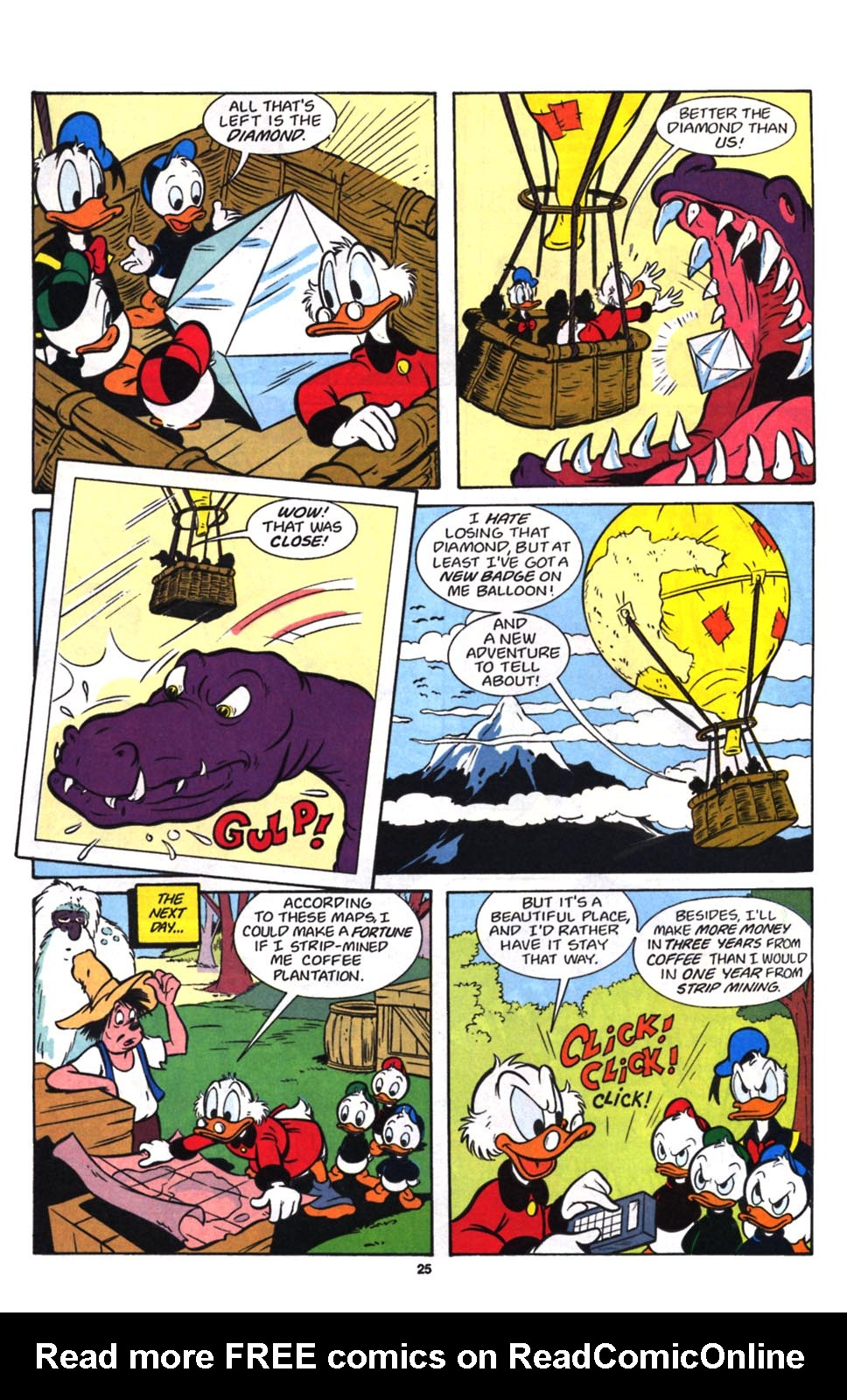 Read online Uncle Scrooge (1953) comic -  Issue #257 - 27