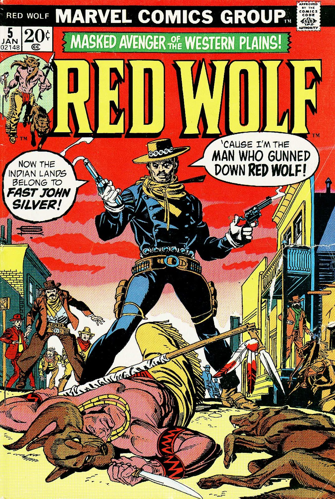 Red Wolf (1972) issue 5 - Page 1