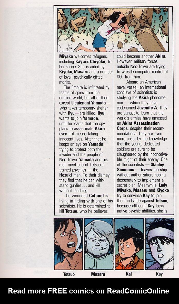 Read online Akira comic -  Issue #31 - 6