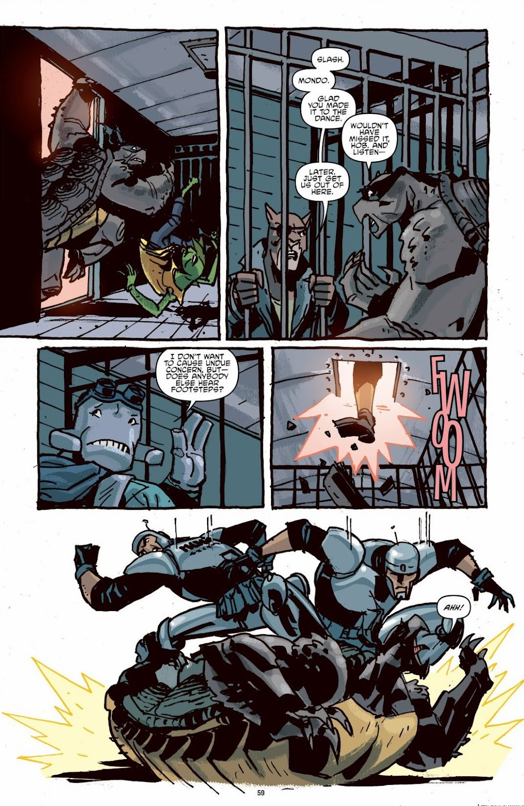 Read online Teenage Mutant Ninja Turtles: The IDW Collection comic -  Issue # TPB 6 (Part 1) - 58