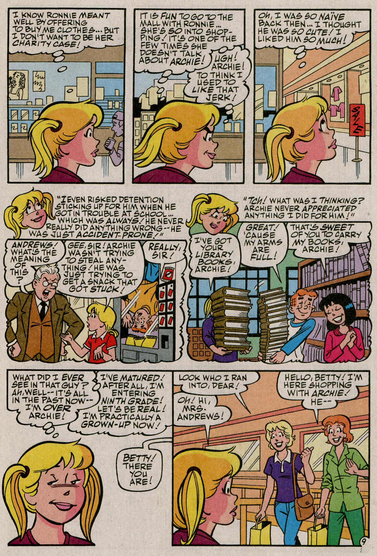 Read online Archie (1960) comic -  Issue #587 - 10