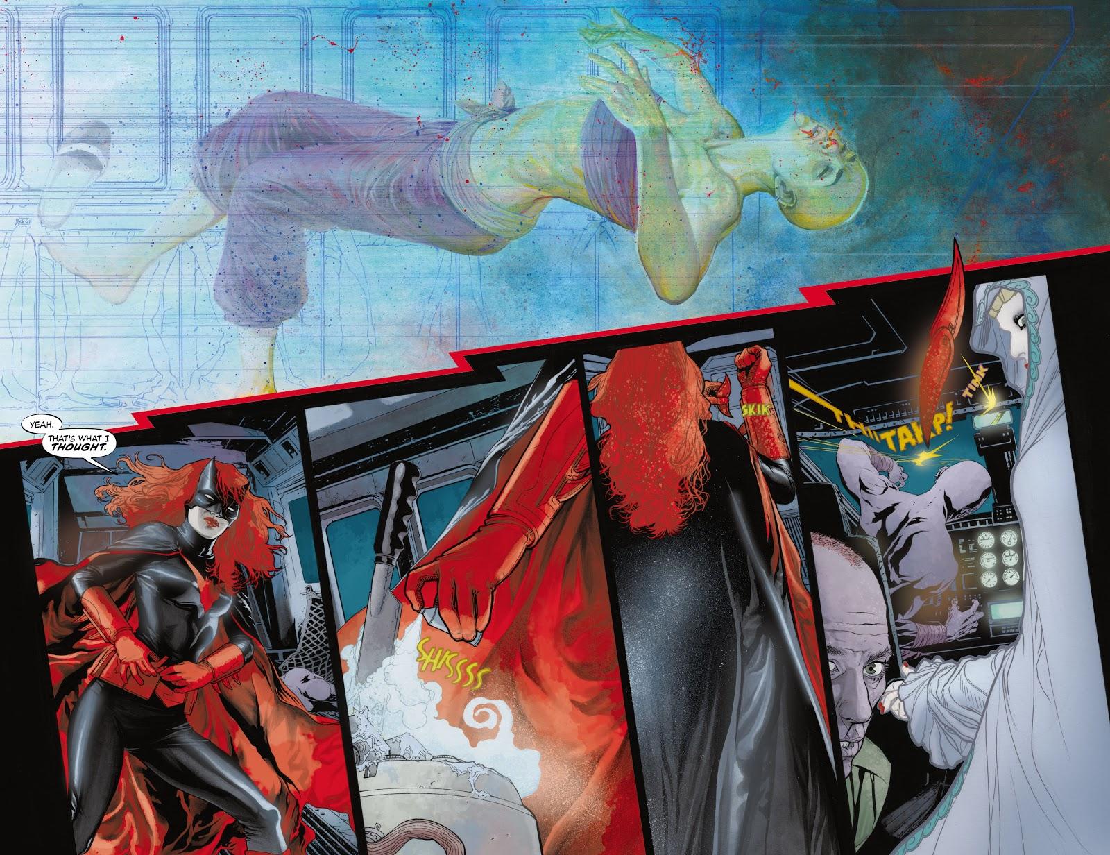 Read online Detective Comics (1937) comic -  Issue # _TPB Batwoman - Elegy (Part 1) - 76