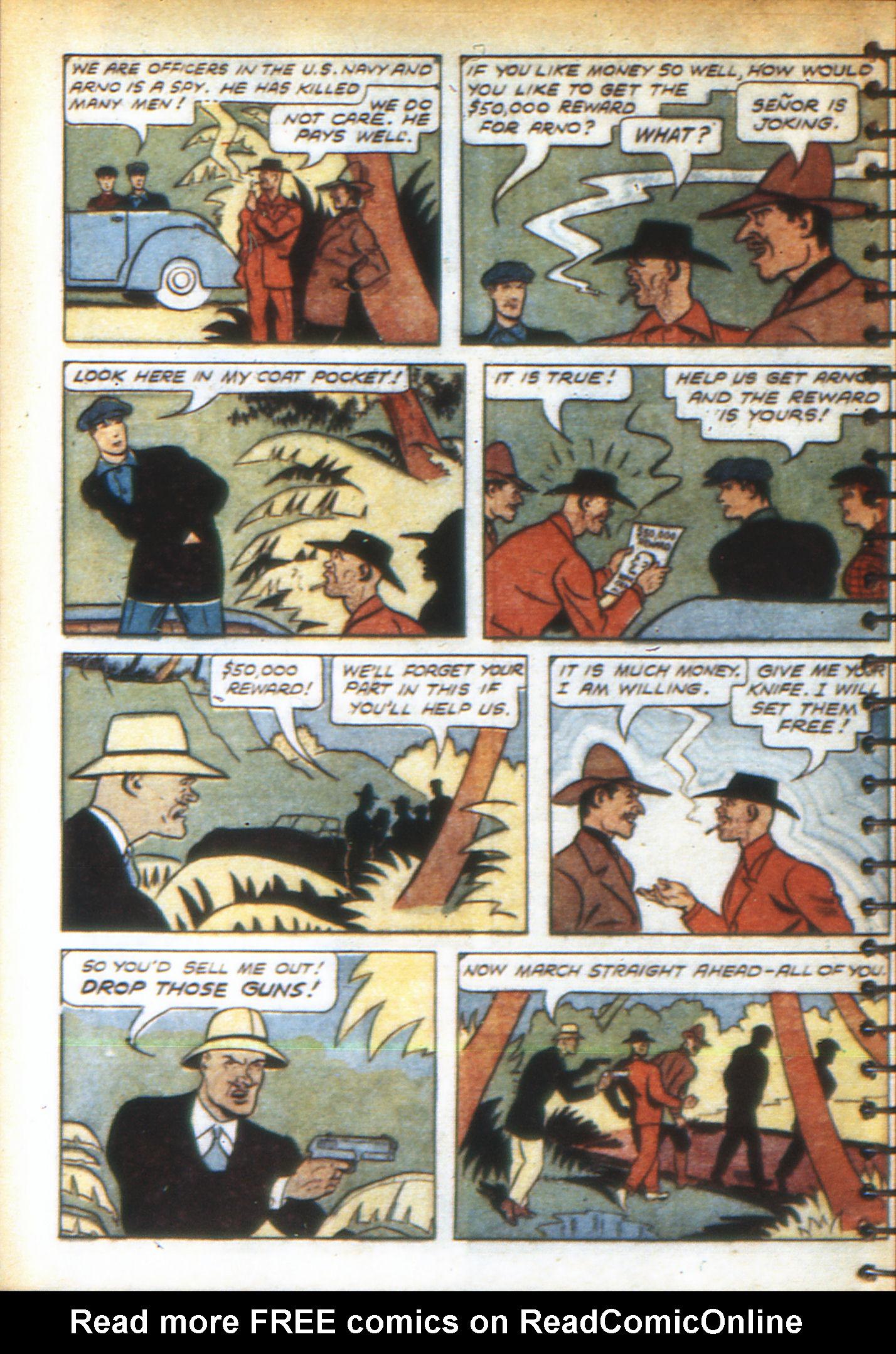 Read online Adventure Comics (1938) comic -  Issue #49 - 56