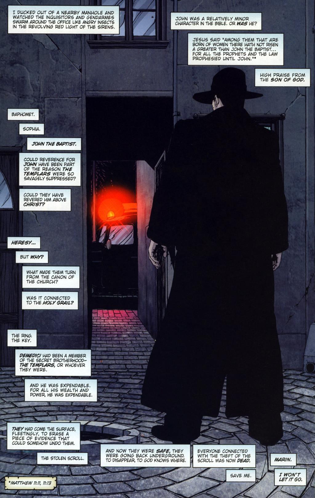 Read online Rex Mundi comic -  Issue #8 - 11