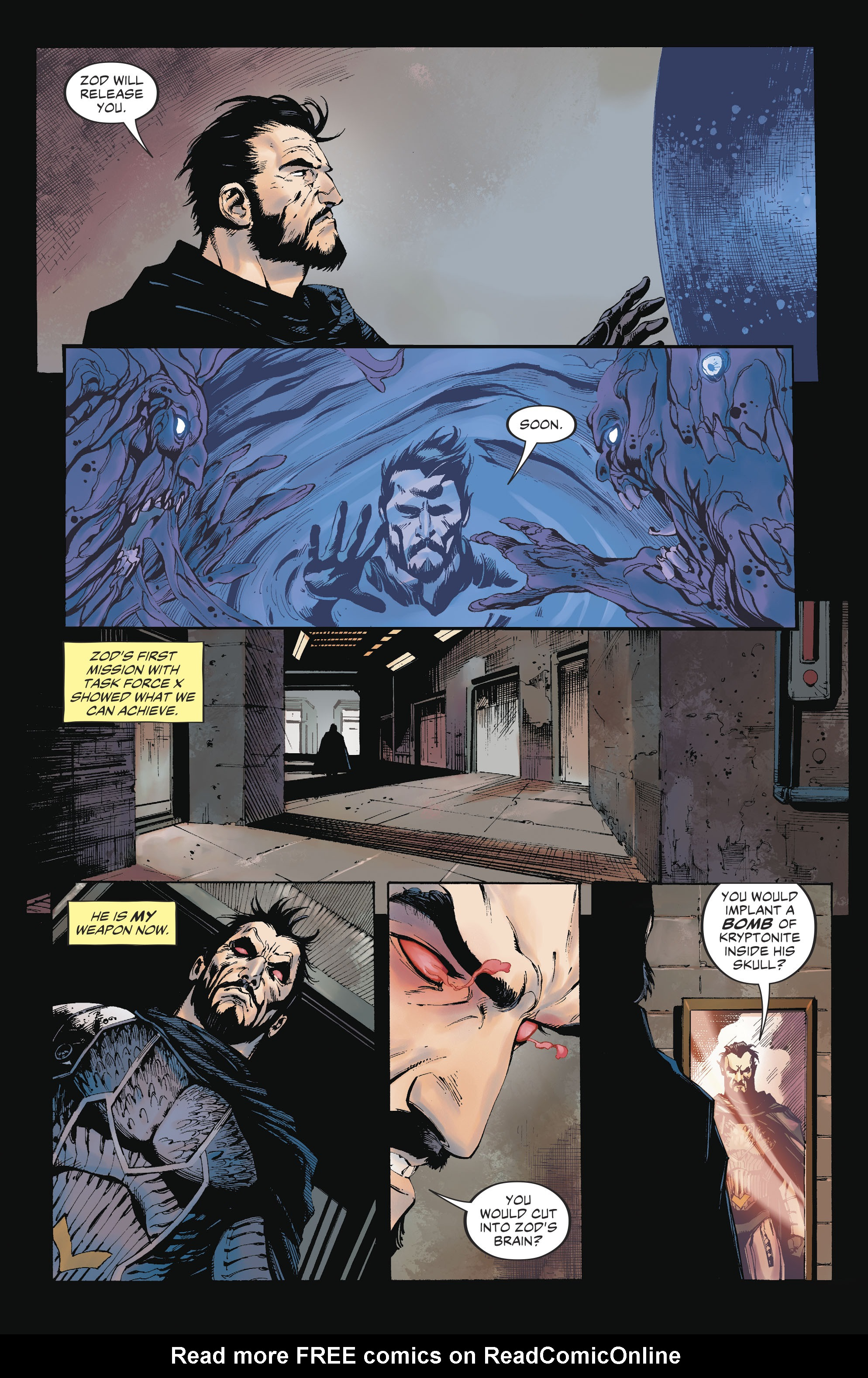 Read online Suicide Squad (2016) comic -  Issue #17 - 21