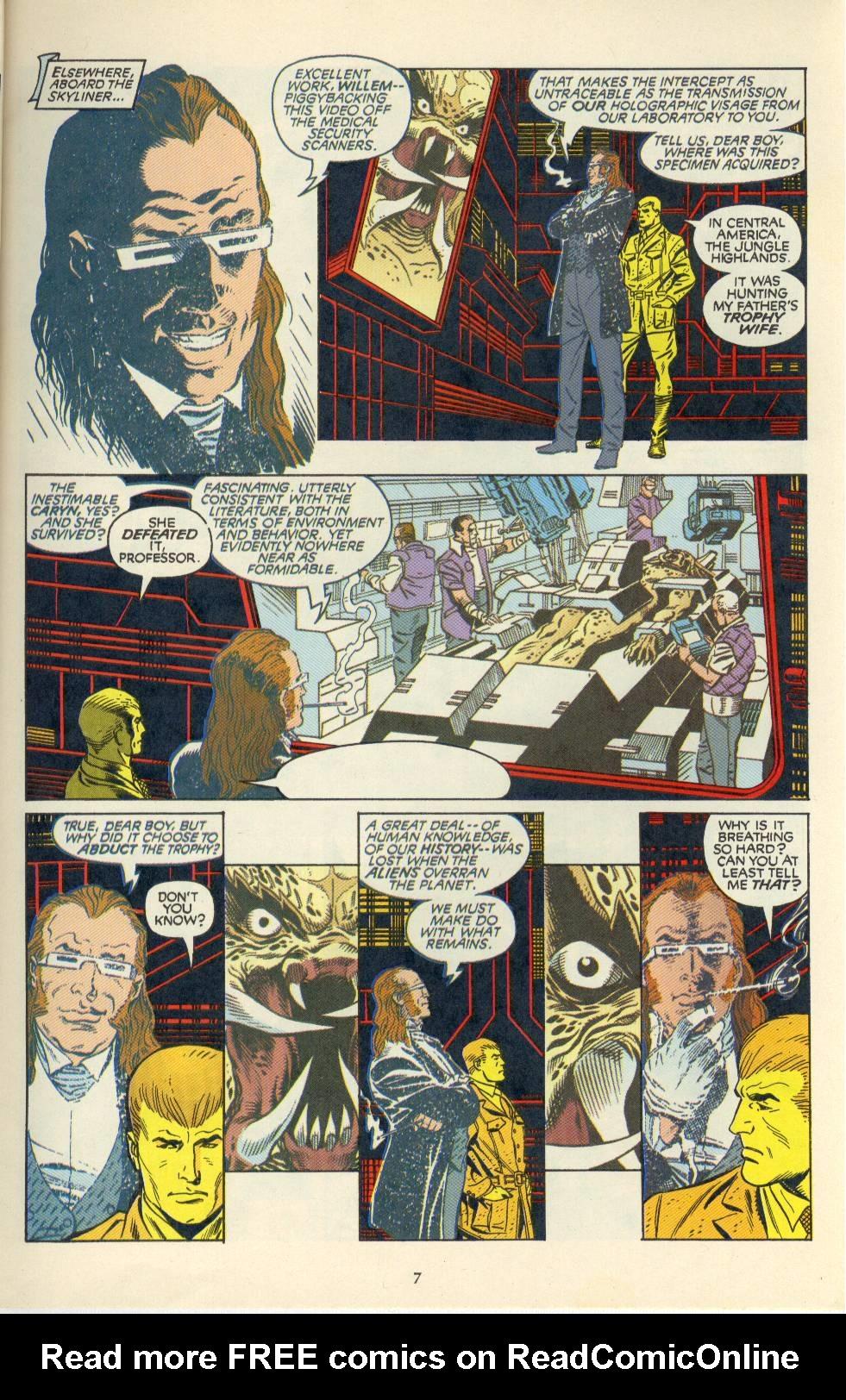 Read online Aliens/Predator: The Deadliest of the Species comic -  Issue #4 - 8