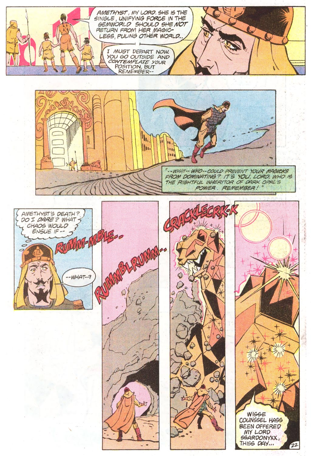 Read online Amethyst (1985) comic -  Issue #11 - 31