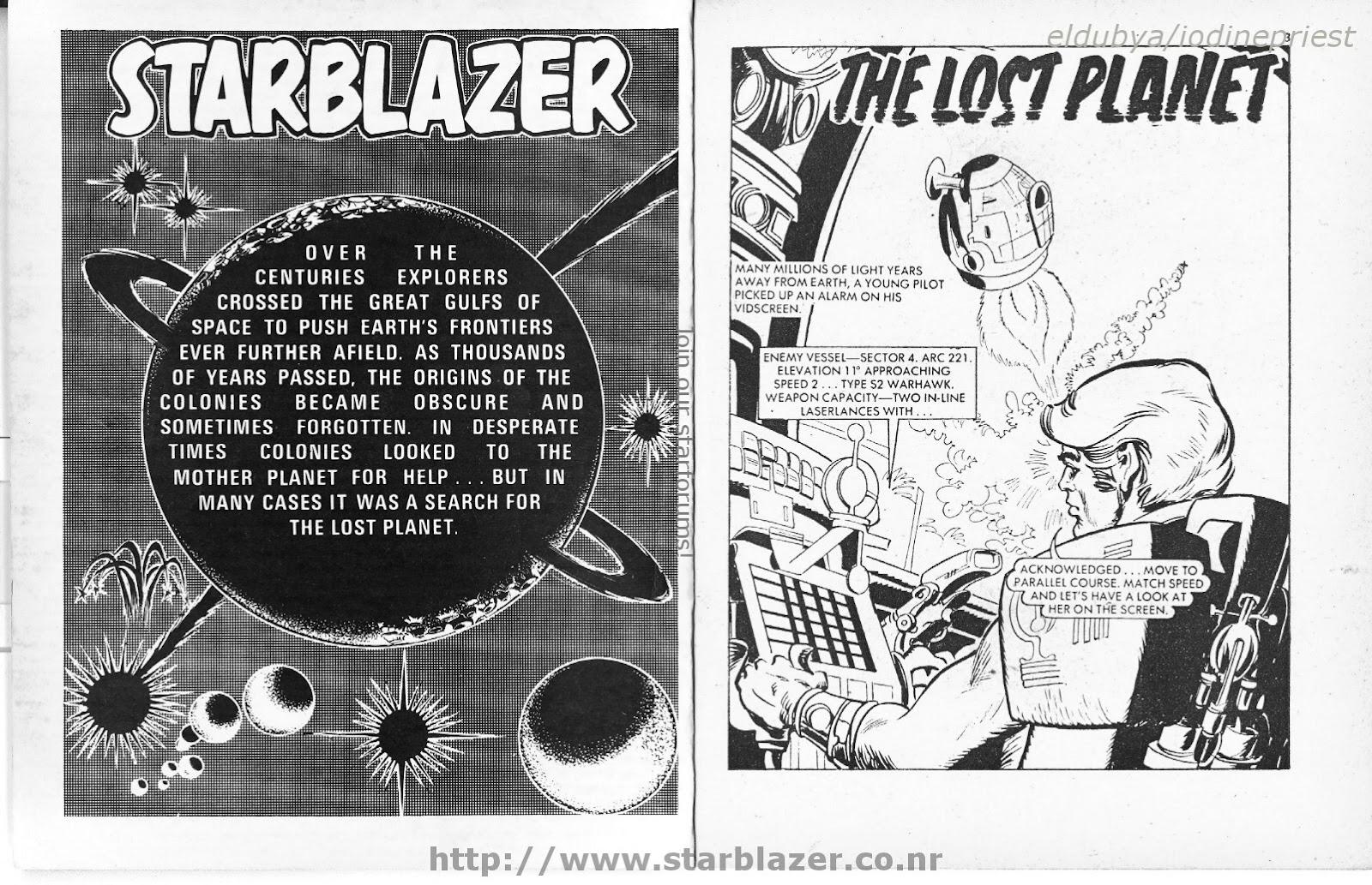 Starblazer issue 33 - Page 3