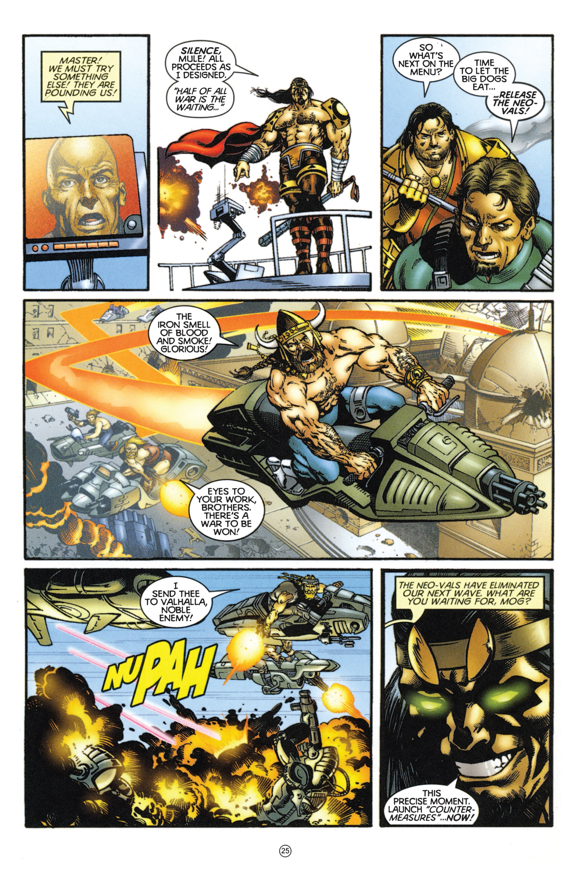 Read online Eternal Warriors comic -  Issue # Issue Mog - 22