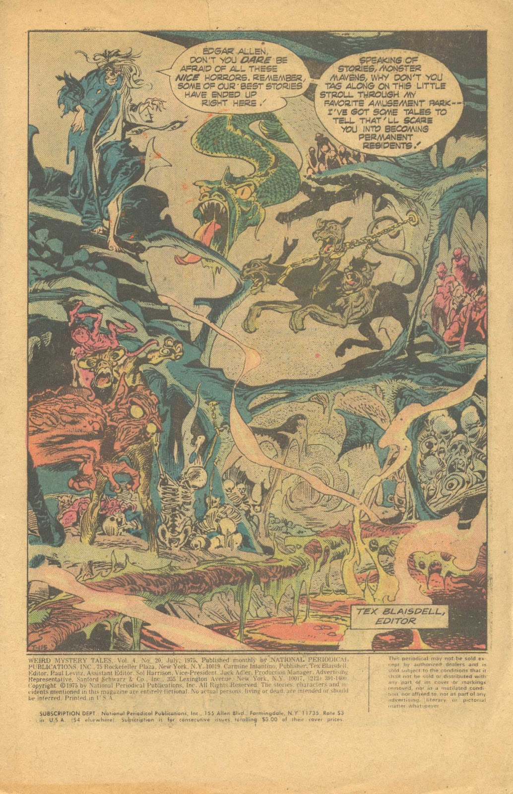 Weird Mystery Tales issue 20 - Page 2