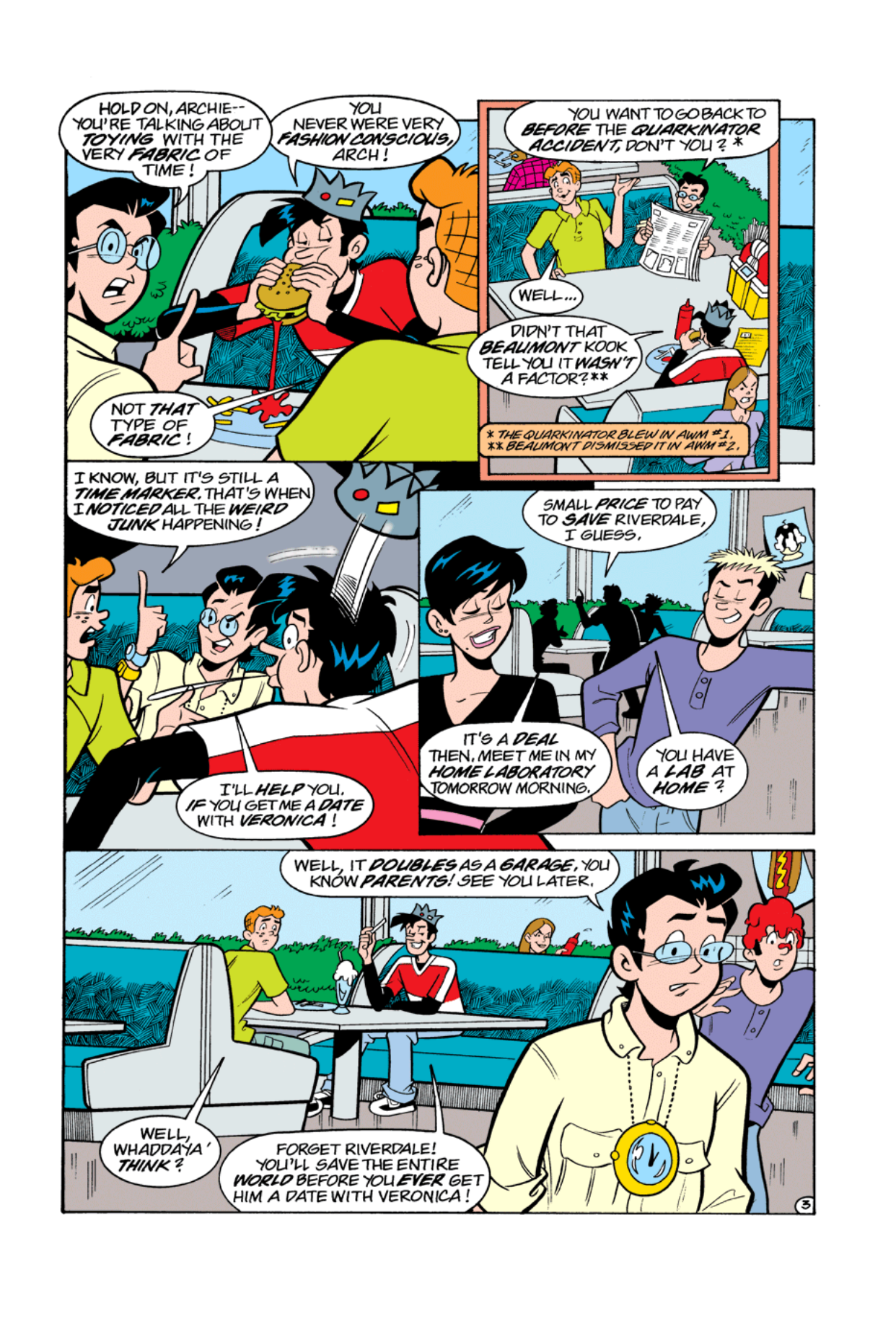 Read online Archie's Weird Mysteries comic -  Issue #5 - 5